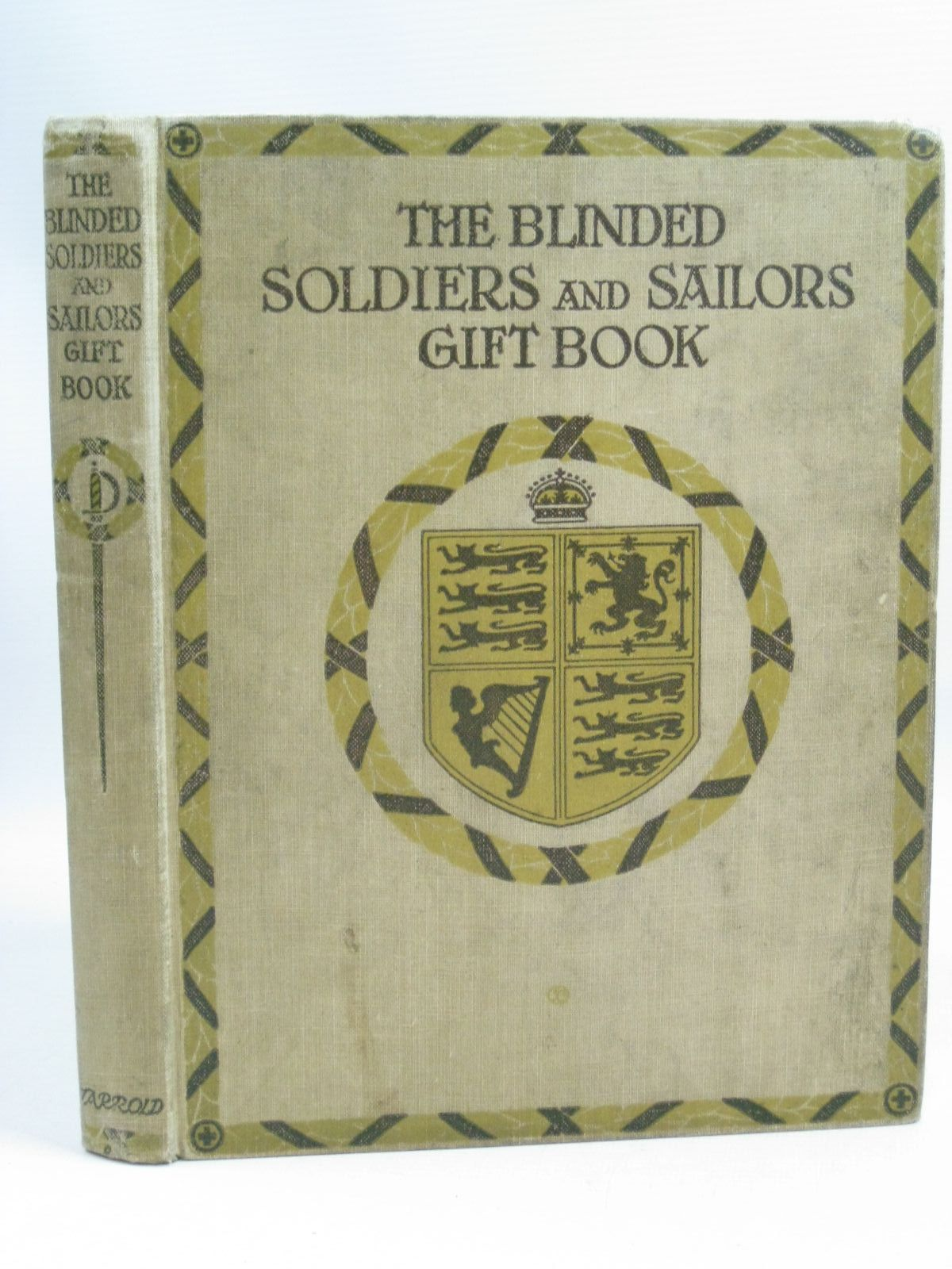 Photo of THE BLINDED SOLDIERS AND SAILORS GIFT BOOK written by Goodchild, George<br />et al, illustrated by Thomson, Hugh<br />Brock, C.E.<br />Robinson, W. Heath<br />et al., published by Jarrold & Sons (STOCK CODE: 1404945)  for sale by Stella & Rose's Books