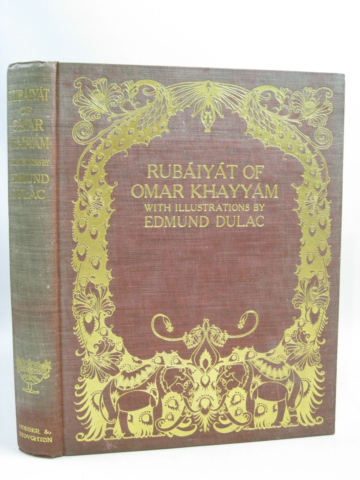 Photo of RUBAIYAT OF OMAR KHAYYAM written by Fitzgerald, Edward illustrated by Dulac, Edmund published by Hodder & Stoughton (STOCK CODE: 1404947)  for sale by Stella & Rose's Books