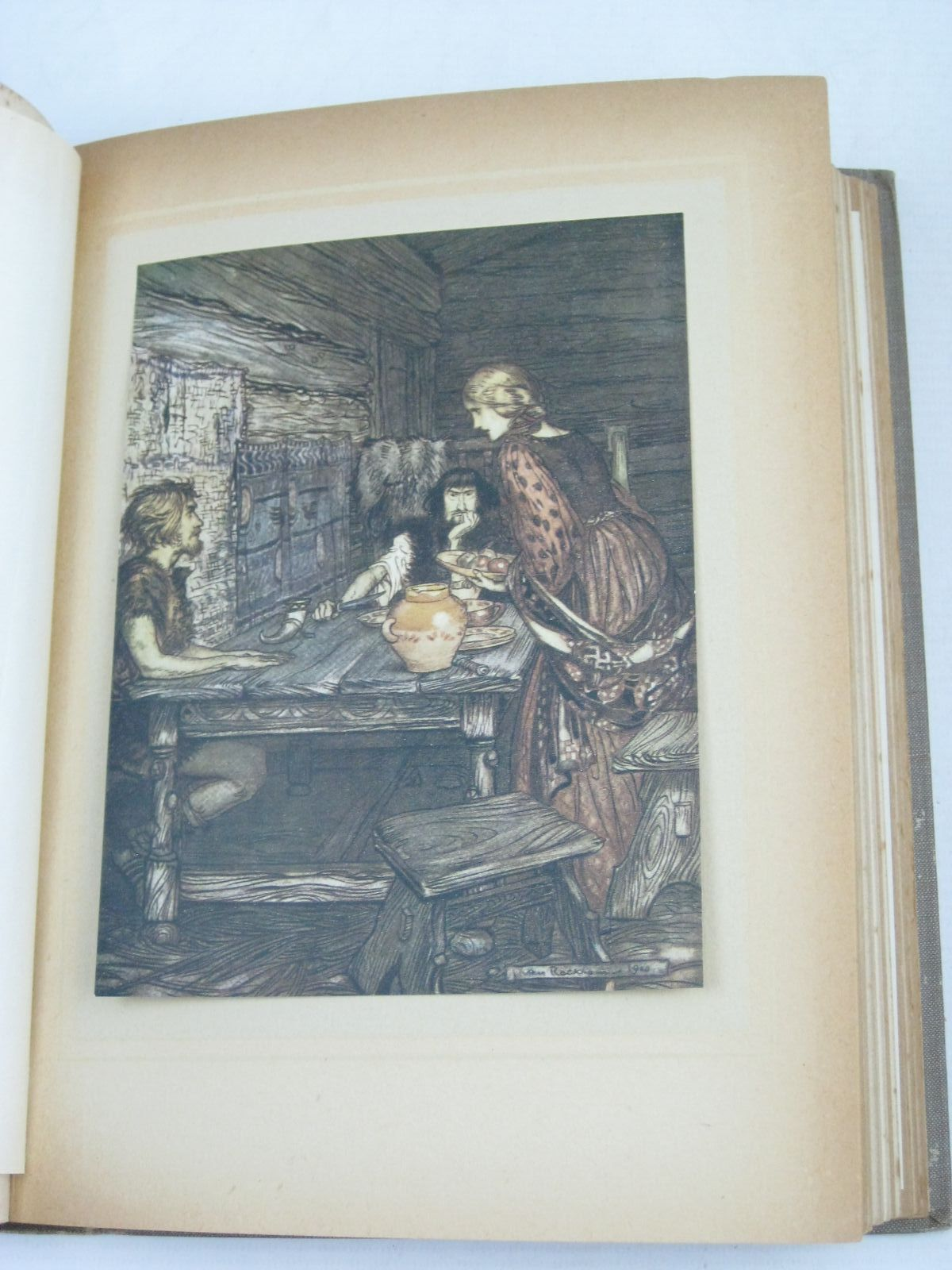 Photo of THE RHINEGOLD & THE VALKYRIE written by Wagner, Richard<br />Armour, Margaret illustrated by Rackham, Arthur published by William Heinemann (STOCK CODE: 1404948)  for sale by Stella & Rose's Books