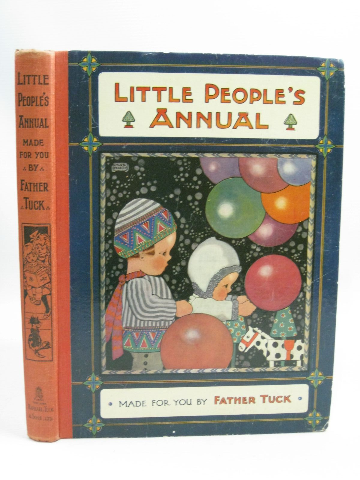 Photo of LITTLE PEOPLE'S ANNUAL written by Vredenburg, Edric<br />Gale, Norman<br />Herbertson, Agnes Grozier<br />et al, illustrated by Preston, Chloe<br />Mercer, Joyce<br />Wain, Louis<br />Cooper, Phyllis<br />et al., published by Raphael Tuck & Sons Ltd. (STOCK CODE: 1404956)  for sale by Stella & Rose's Books