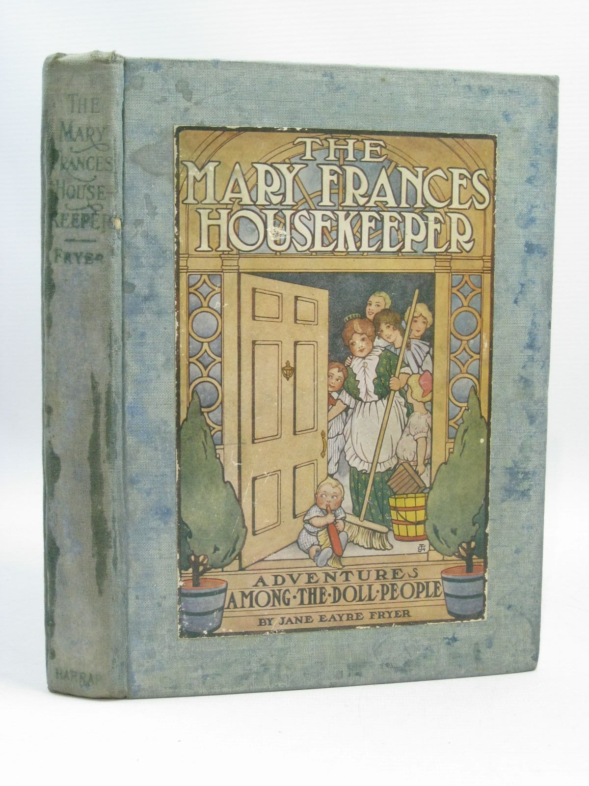 Photo of THE MARY FRANCES HOUSEKEEPER written by Fryer, Jane Eayre illustrated by Greene, Julia<br />Mowitz, Albert C. published by George G. Harrap & Co. Ltd. (STOCK CODE: 1404988)  for sale by Stella & Rose's Books