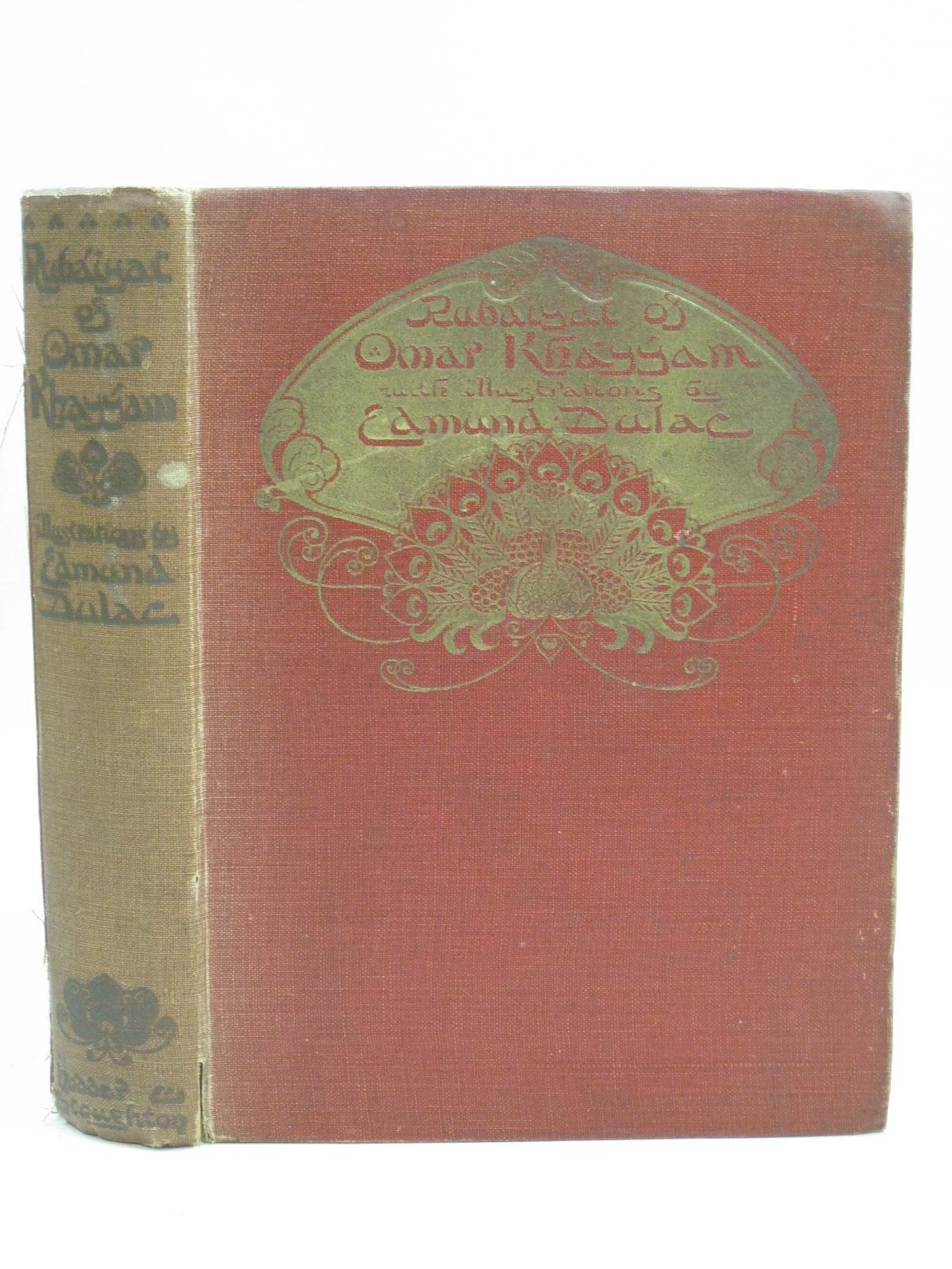 Photo of RUBAIYAT OF OMAR KHAYYAM written by Fitzgerald, Edward illustrated by Dulac, Edmund published by Hodder & Stoughton (STOCK CODE: 1404991)  for sale by Stella & Rose's Books