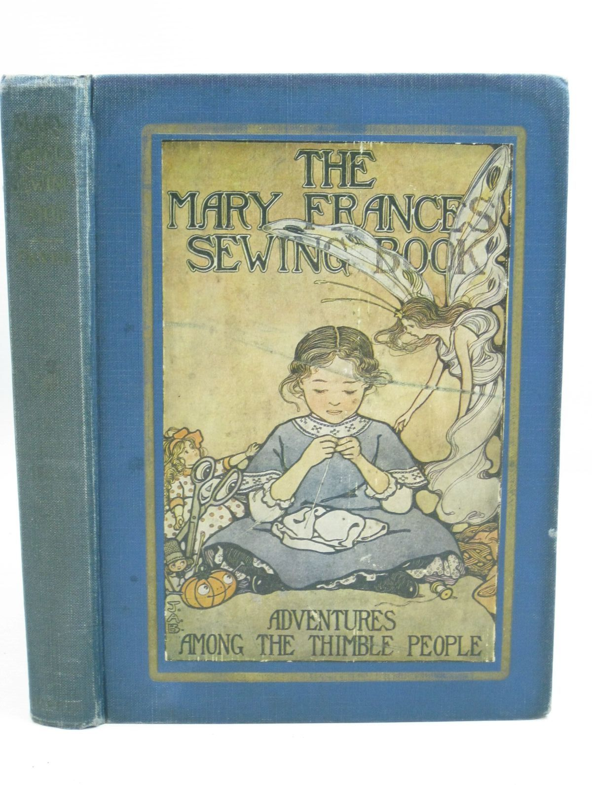 Photo of THE MARY FRANCES SEWING BOOK written by Fryer, Jane Eayre illustrated by Boyer, Jane Allen published by George G. Harrap & Company Ltd. (STOCK CODE: 1404994)  for sale by Stella & Rose's Books
