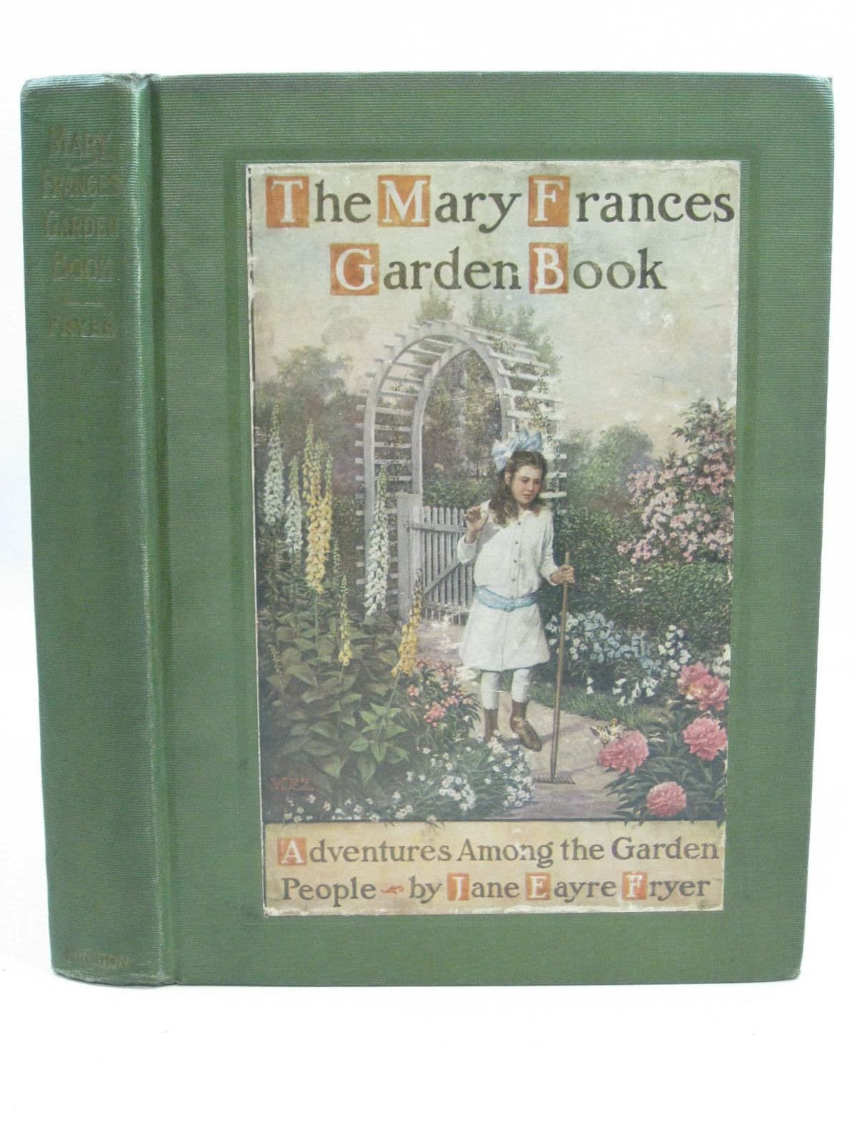 Photo of THE MARY FRANCES GARDEN BOOK written by Fryer, Jane Eayre illustrated by Zwirner, William F. published by The John C. Winston Company (STOCK CODE: 1404995)  for sale by Stella & Rose's Books