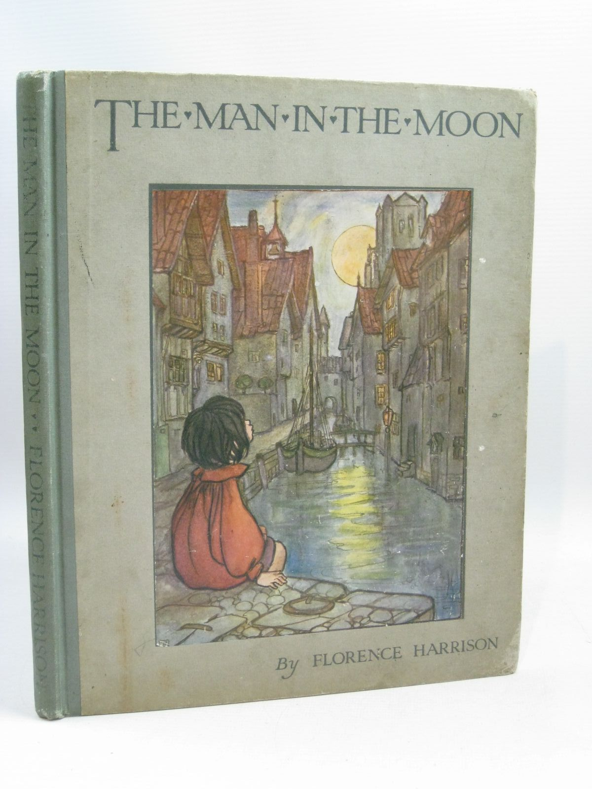 Photo of THE MAN IN THE MOON AND OTHER VERSES written by Harrison, Florence illustrated by Harrison, Florence published by Blackie And Son Limited (STOCK CODE: 1405013)  for sale by Stella & Rose's Books