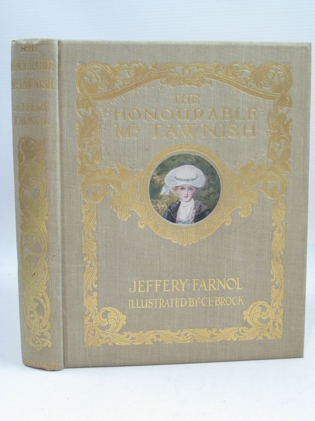 Photo of THE HONOURABLE MR TAWNISH written by Farnol, Jeffery illustrated by Brock, C.E. published by Sampson Low, Marston & Co. Ltd. (STOCK CODE: 1405018)  for sale by Stella & Rose's Books