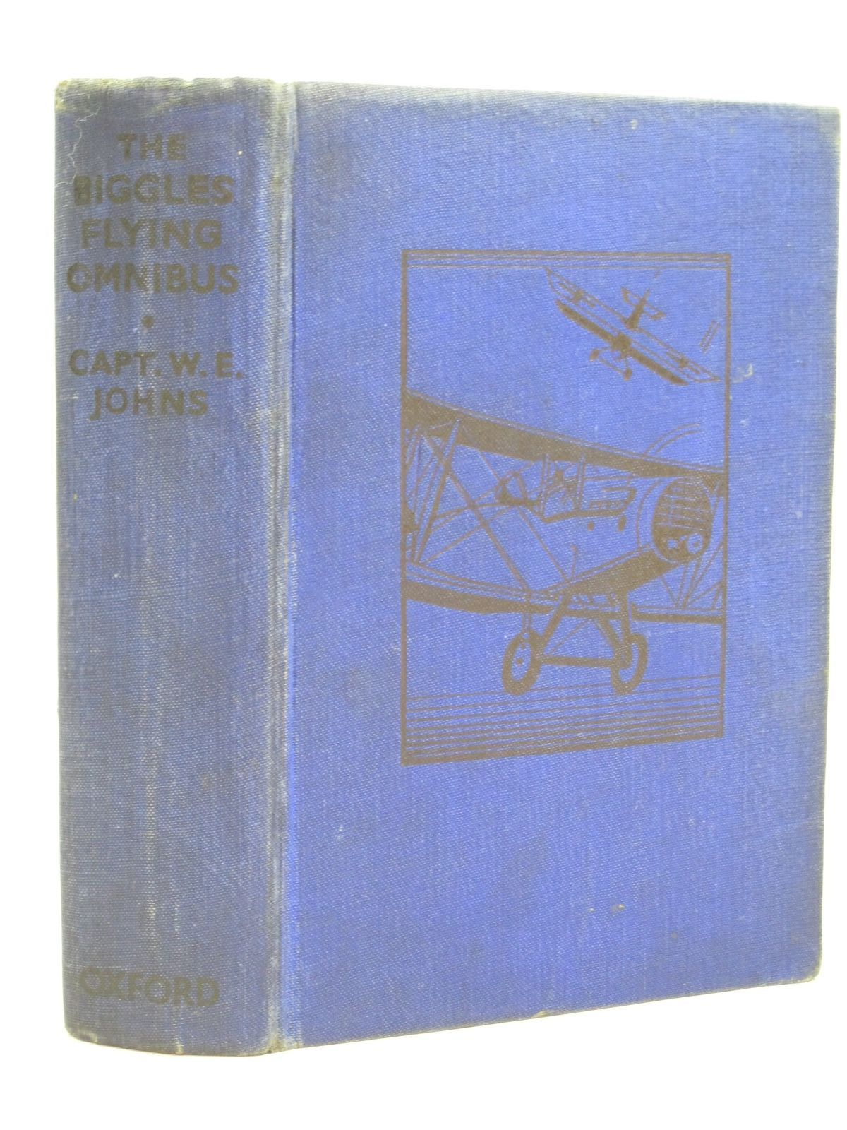 Photo of THE BIGGLES FLYING OMNIBUS written by Johns, W.E. published by Oxford University Press, Humphrey Milford (STOCK CODE: 1405046)  for sale by Stella & Rose's Books