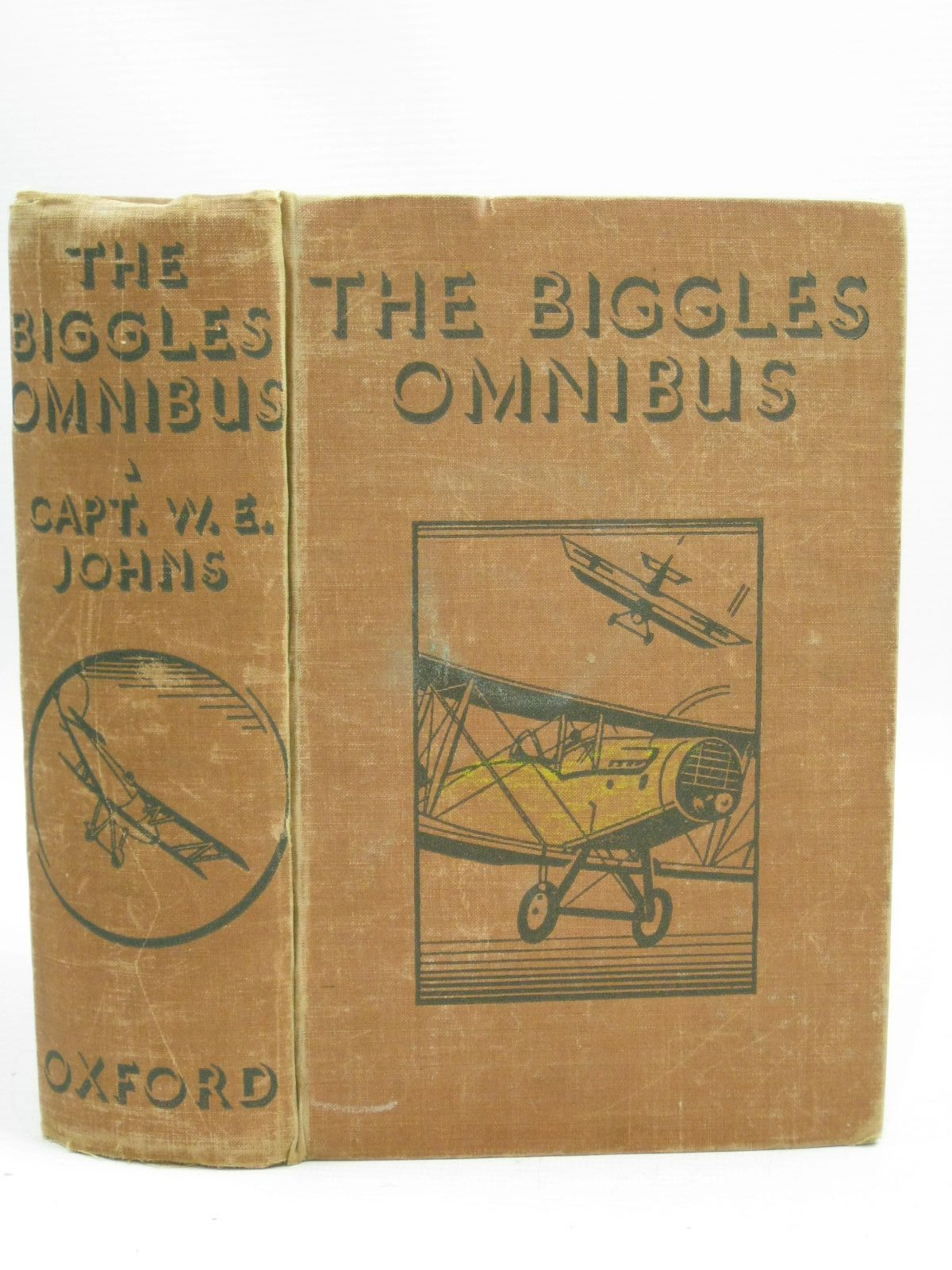 Photo of THE BIGGLES OMNIBUS written by Johns, W.E. published by Oxford University Press, Humphrey Milford (STOCK CODE: 1405050)  for sale by Stella & Rose's Books