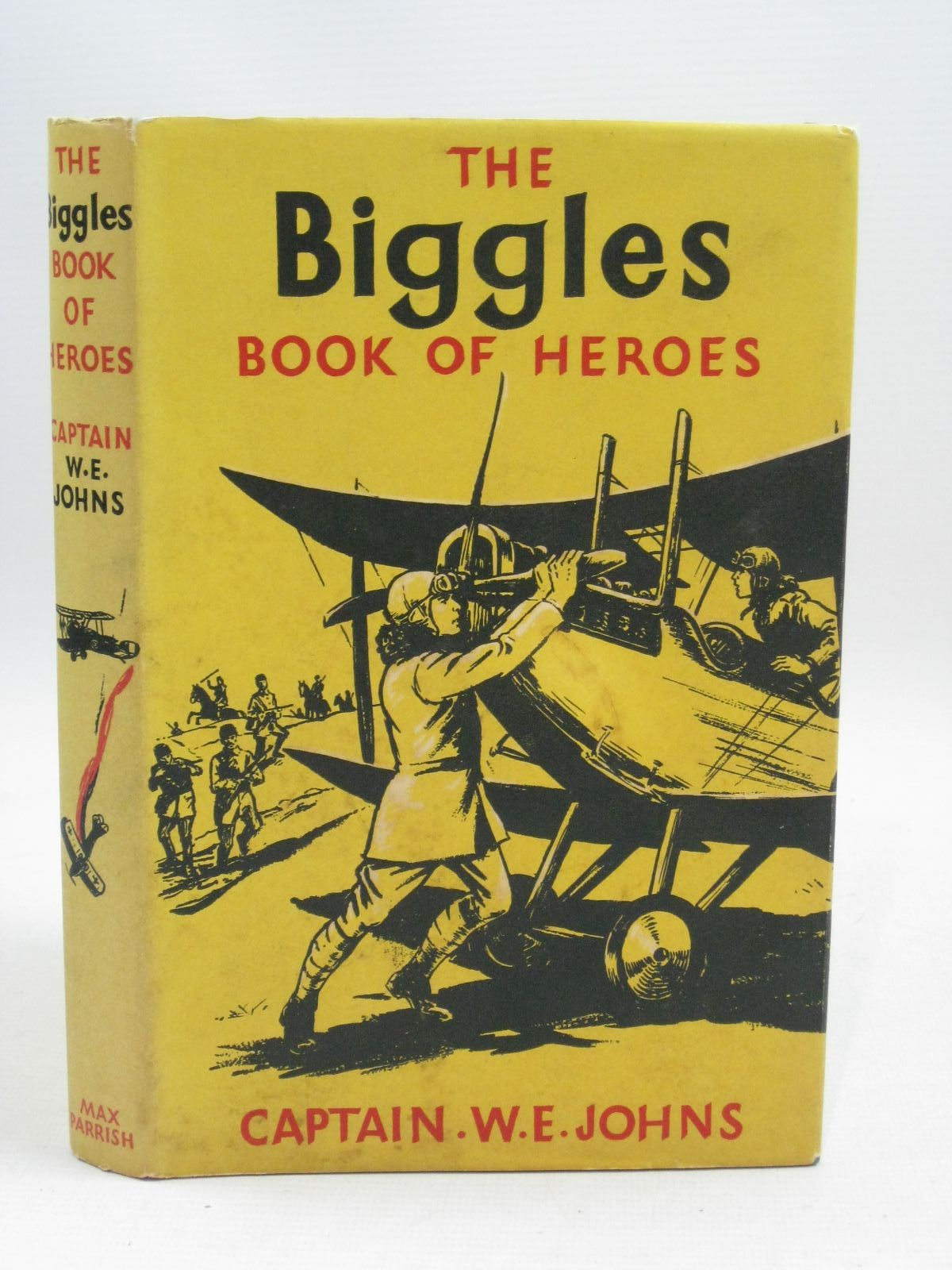 Photo of THE BIGGLES BOOK OF HEROES written by Johns, W.E. illustrated by Randell, William published by Max Parrish & Co (STOCK CODE: 1405052)  for sale by Stella & Rose's Books