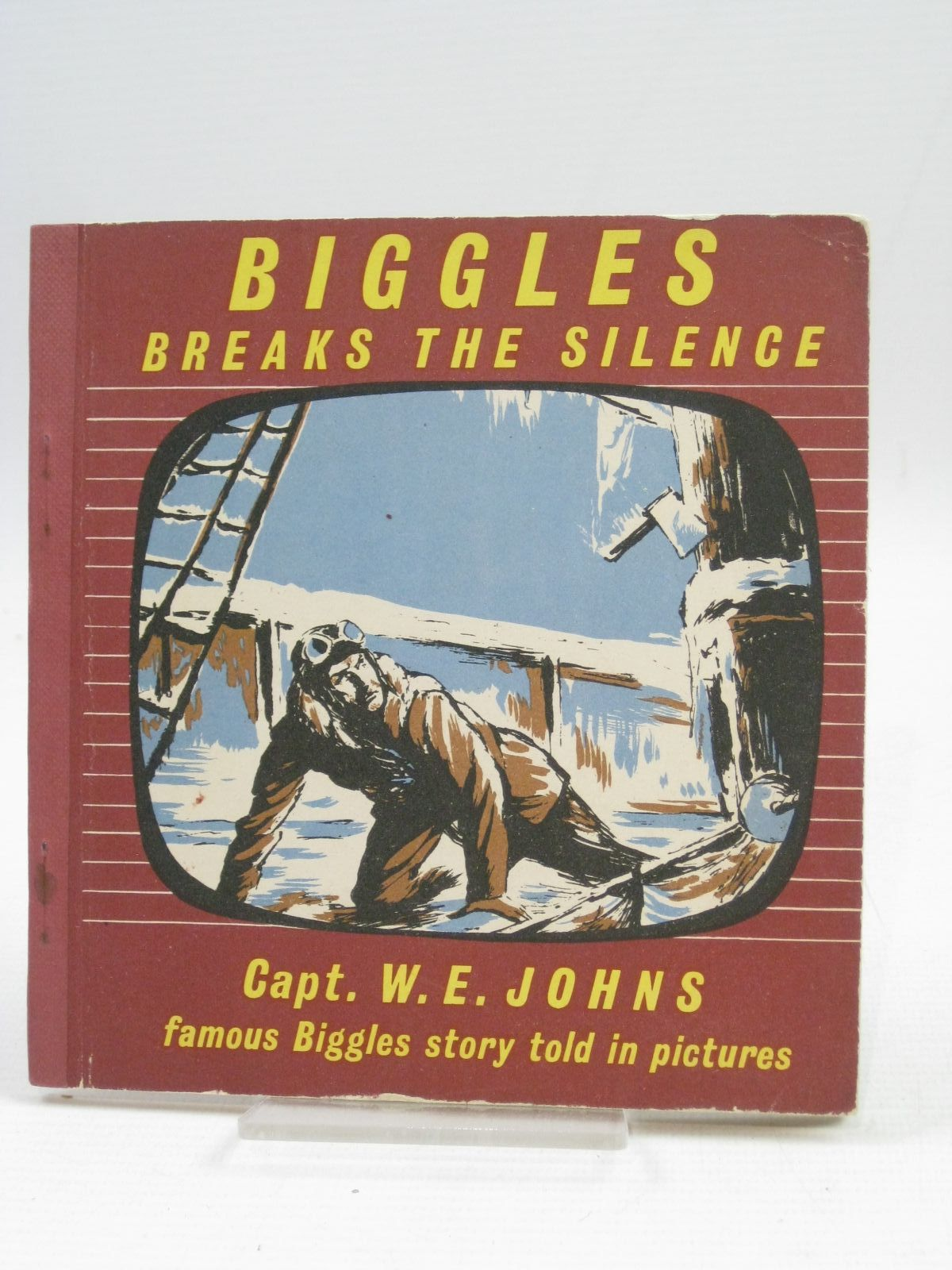 Photo of BIGGLES BREAKS THE SILENCE written by Johns, W.E. illustrated by Kay,  published by The Brockhampton Press Ltd. (STOCK CODE: 1405063)  for sale by Stella & Rose's Books