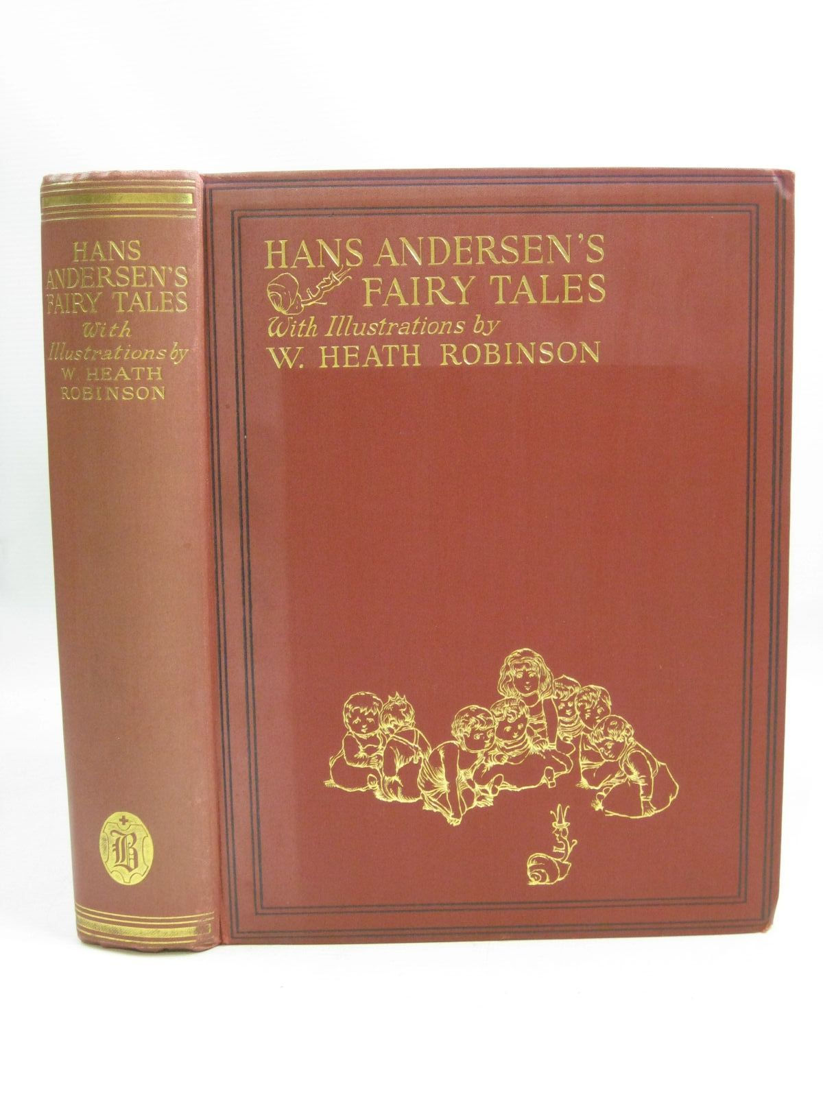 Photo of HANS ANDERSEN'S FAIRY TALES written by Andersen, Hans Christian illustrated by Robinson, W. Heath published by Hodder & Stoughton, Boots the Chemists (STOCK CODE: 1405067)  for sale by Stella & Rose's Books