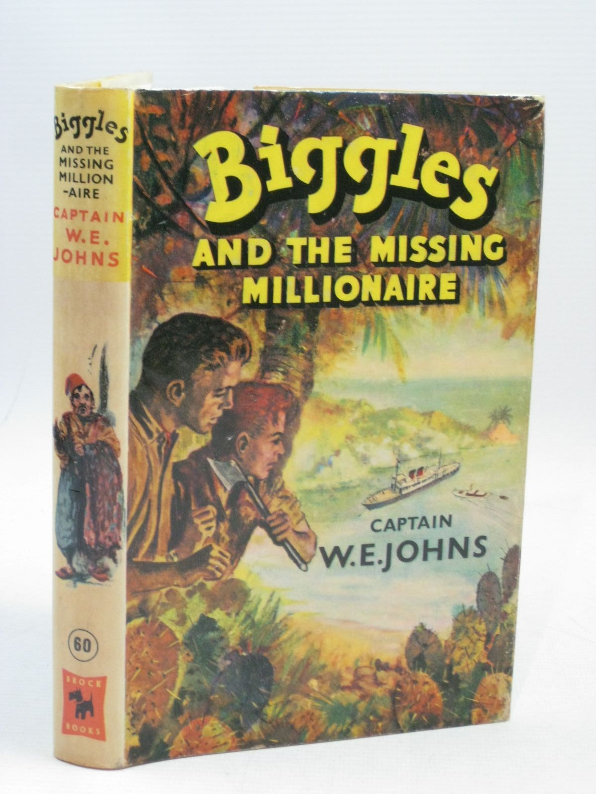 Photo of BIGGLES AND THE MISSING MILLIONAIRE written by Johns, W.E. illustrated by Stead, Leslie published by Brockhampton Press Ltd. (STOCK CODE: 1405102)  for sale by Stella & Rose's Books