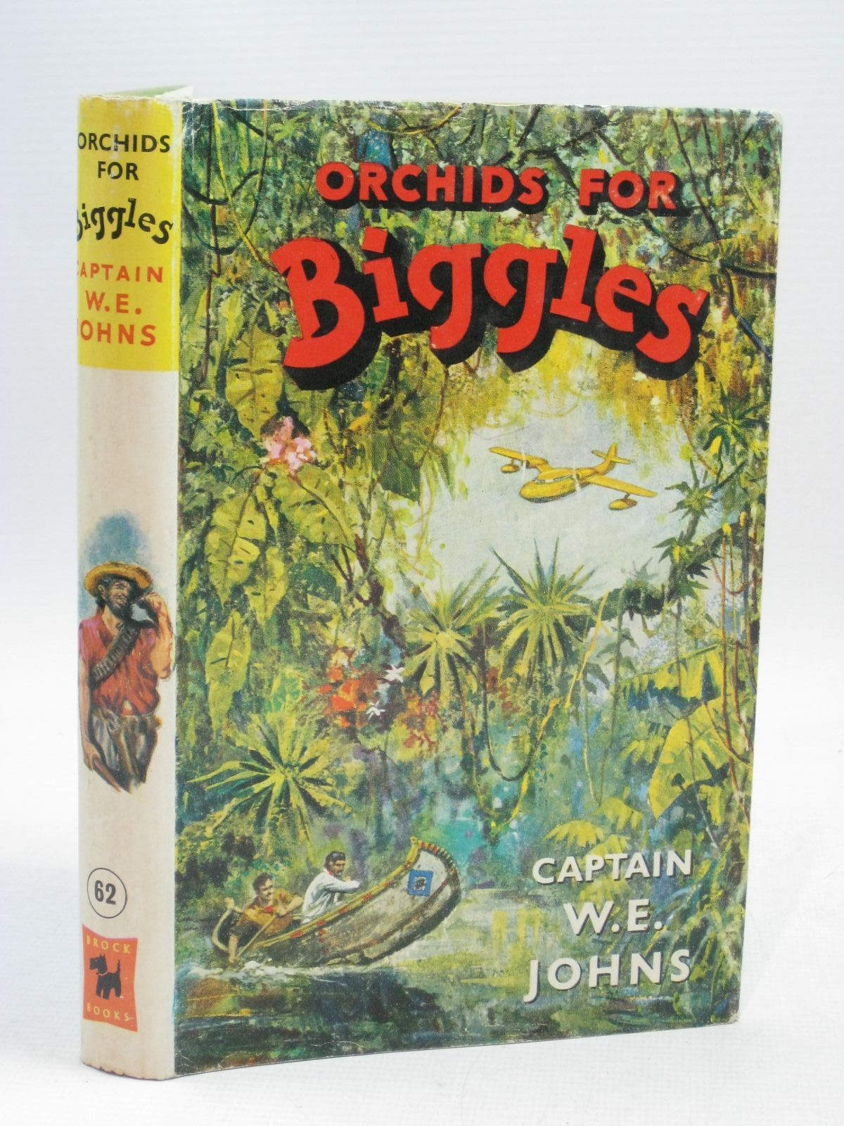 Photo of ORCHIDS FOR BIGGLES written by Johns, W.E. illustrated by Stead, Leslie published by Brockhampton Press (STOCK CODE: 1405104)  for sale by Stella & Rose's Books