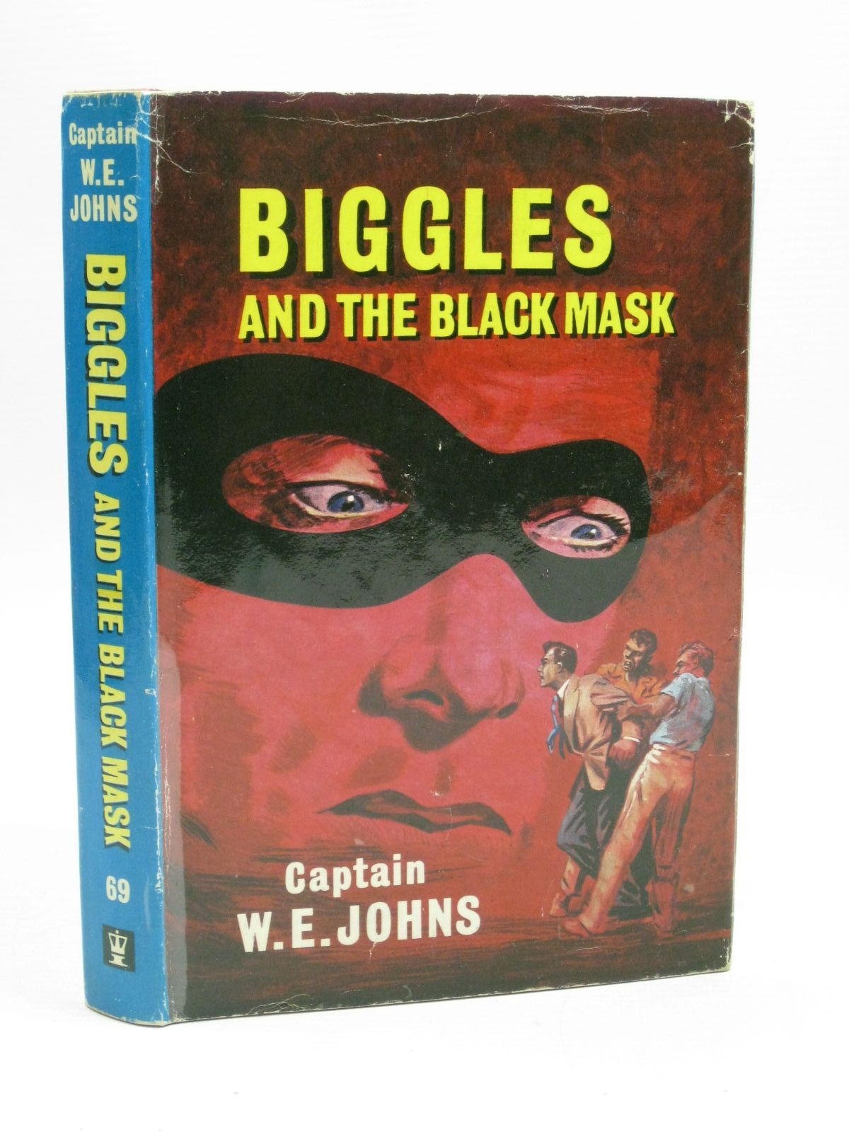 Photo of BIGGLES AND THE BLACK MASK written by Johns, W.E. illustrated by Stead,  published by Hodder & Stoughton (STOCK CODE: 1405122)  for sale by Stella & Rose's Books