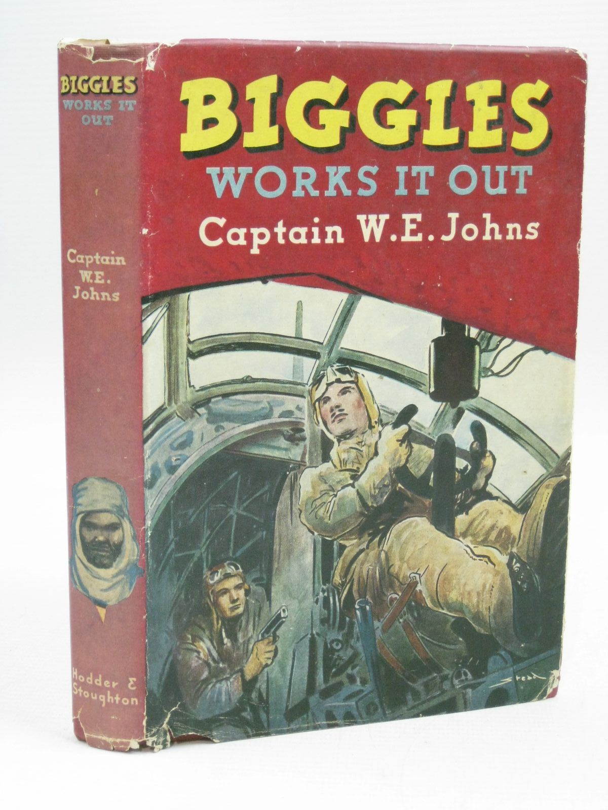 Photo of BIGGLES WORKS IT OUT written by Johns, W.E. illustrated by Stead,  published by Hodder & Stoughton (STOCK CODE: 1405127)  for sale by Stella & Rose's Books