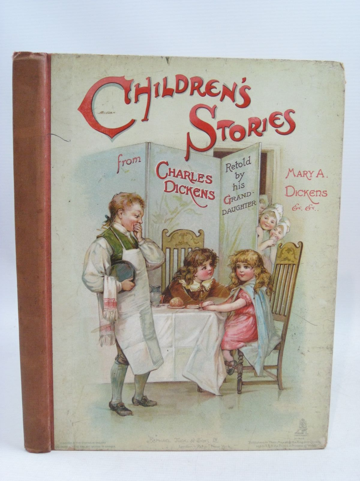Photo of CHILDREN'S STORIES FROM DICKENS written by Dickens, Mary Angela<br />Vredenburg, Edric<br />et al, illustrated by Brundage, Frances<br />Copping, Harold<br />et al., published by Raphael Tuck & Sons Ltd. (STOCK CODE: 1405134)  for sale by Stella & Rose's Books