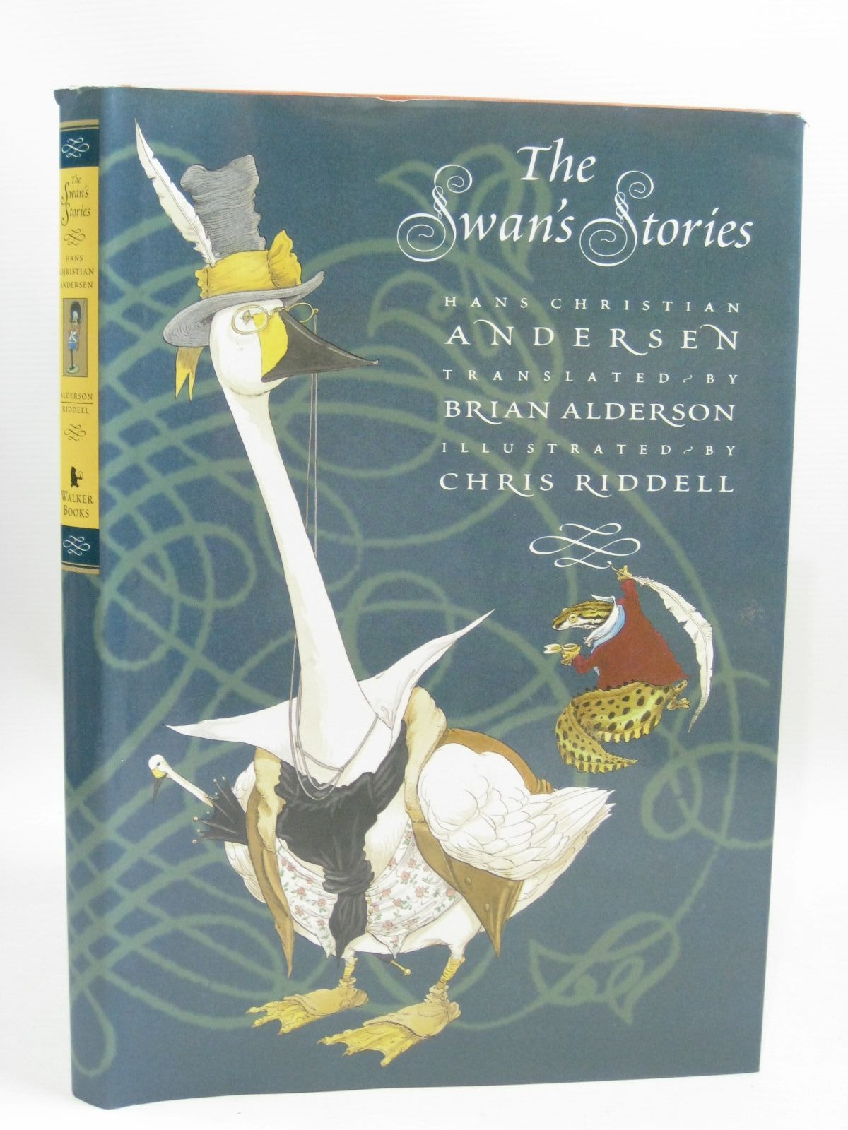 Photo of THE SWAN'S STORIES written by Andersen, Hans Christian<br />Alderson, Brian illustrated by Riddell, Chris published by Walker Books (STOCK CODE: 1405146)  for sale by Stella & Rose's Books