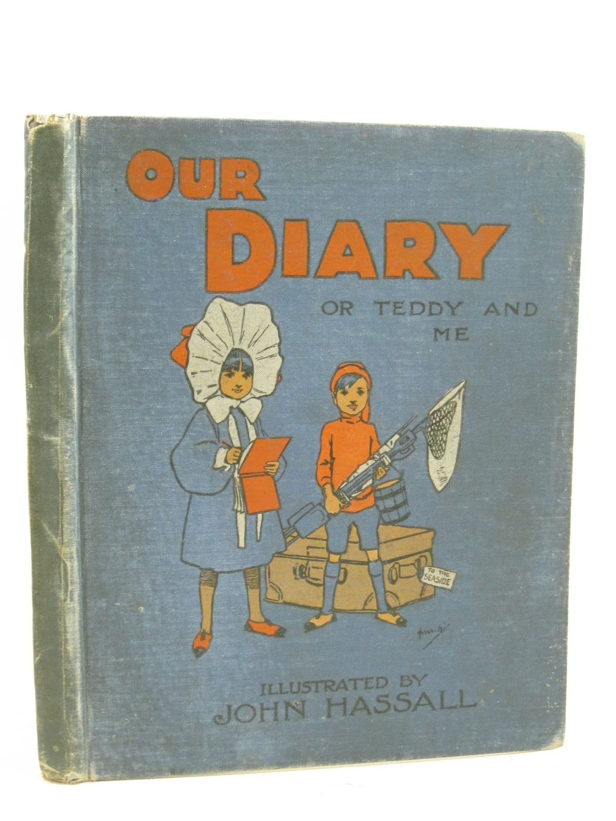 Photo of OUR DIARY OR TEDDY AND ME illustrated by Hassall, John published by Thomas Nelson and Sons Ltd. (STOCK CODE: 1405171)  for sale by Stella & Rose's Books