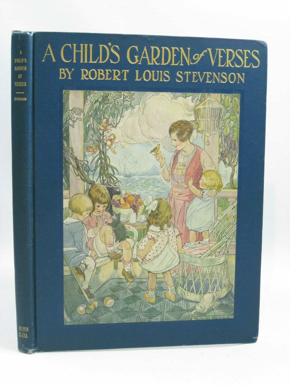 Photo of A CHILD'S GARDEN OF VERSES written by Stevenson, Robert Louis illustrated by Hallock, Ruth Mary published by Rand McNally & Co, NY. (STOCK CODE: 1405175)  for sale by Stella & Rose's Books