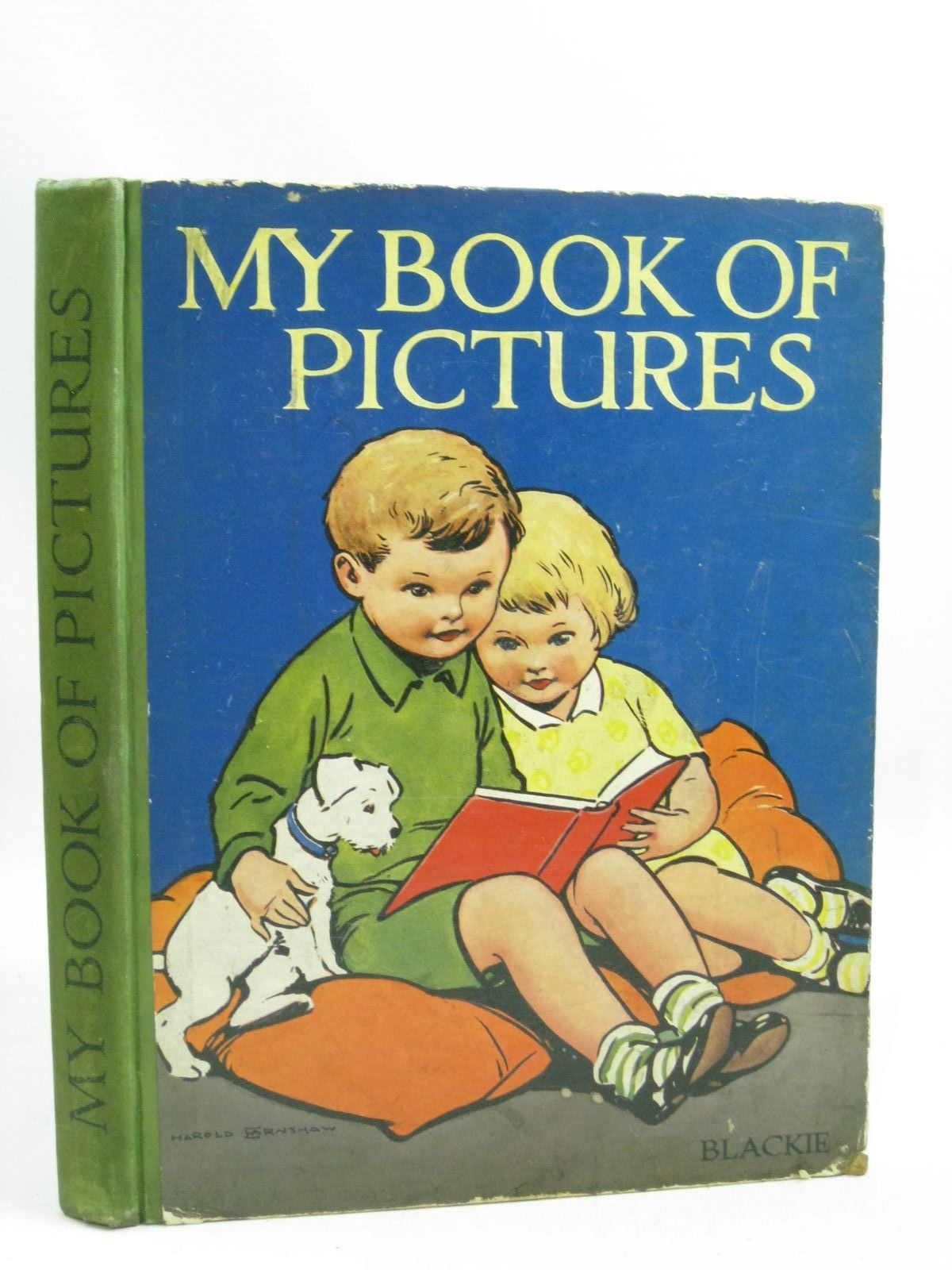 Photo of MY BOOK OF PICTURES illustrated by Kaye, Albert<br />Bernard, C.E.B.<br />Cobb, Ruth<br />Greenup, published by Blackie & Son Ltd. (STOCK CODE: 1405178)  for sale by Stella & Rose's Books