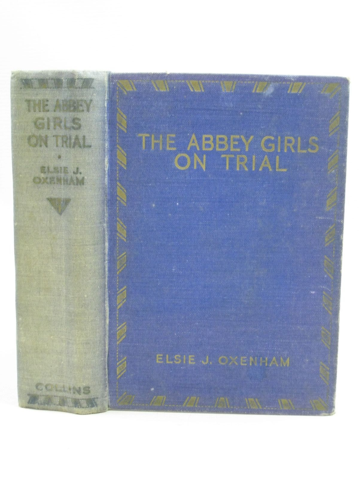 Photo of THE ABBEY GIRLS ON TRIAL written by Oxenham, Elsie J. published by Collins Clear-Type Press (STOCK CODE: 1405185)  for sale by Stella & Rose's Books