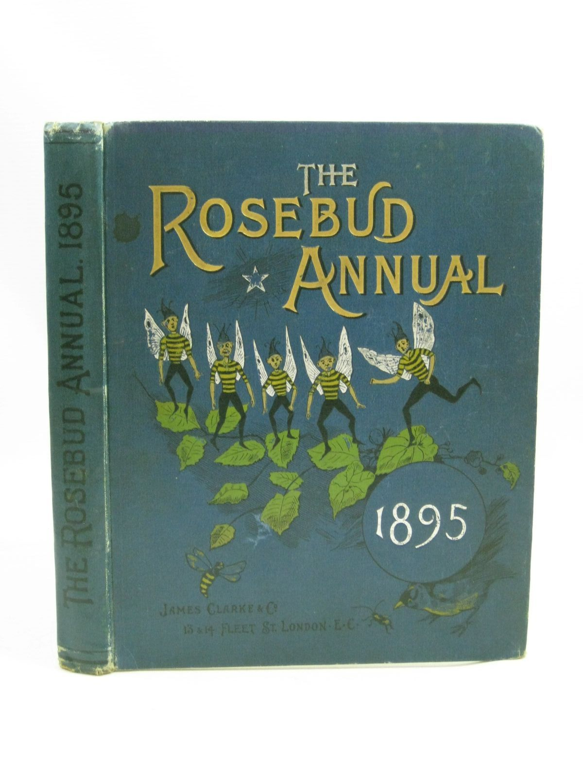 Photo of THE ROSEBUD ANNUAL 1895 illustrated by Wain, Louis<br />Stoddart, G.<br />et al., published by James Clarke & Co. (STOCK CODE: 1405194)  for sale by Stella & Rose's Books