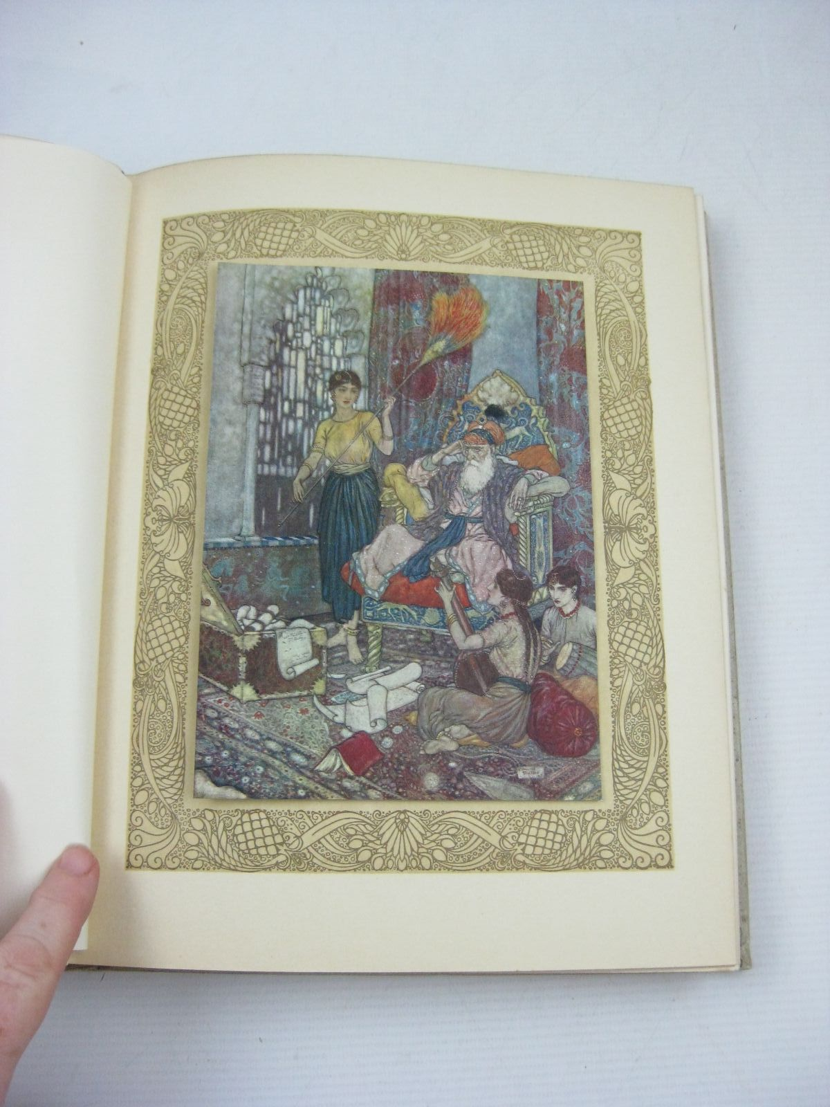 Photo of RUBAIYAT OF OMAR KHAYYAM written by Fitzgerald, Edward illustrated by Dulac, Edmund published by Hodder & Stoughton (STOCK CODE: 1405199)  for sale by Stella & Rose's Books