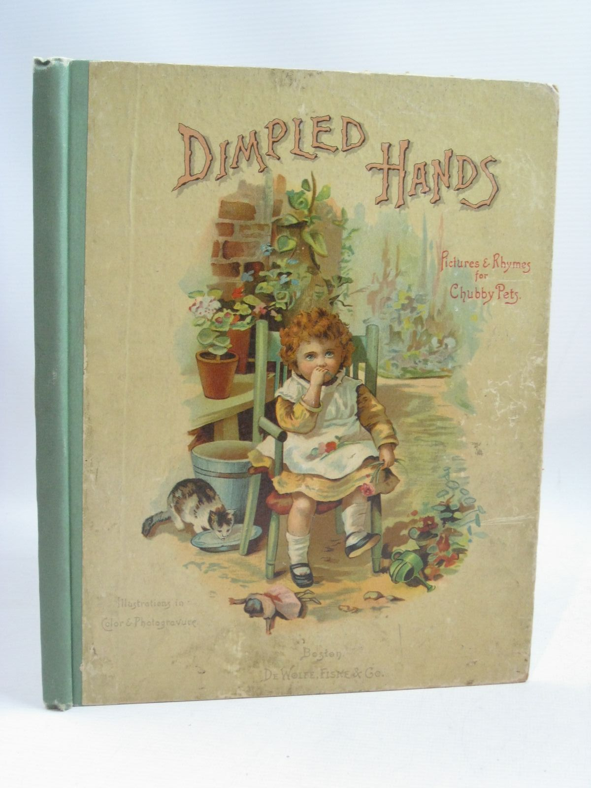 Photo of DIMPLED HANDS published by De Wolfe-Fiske & Co. (STOCK CODE: 1405212)  for sale by Stella & Rose's Books