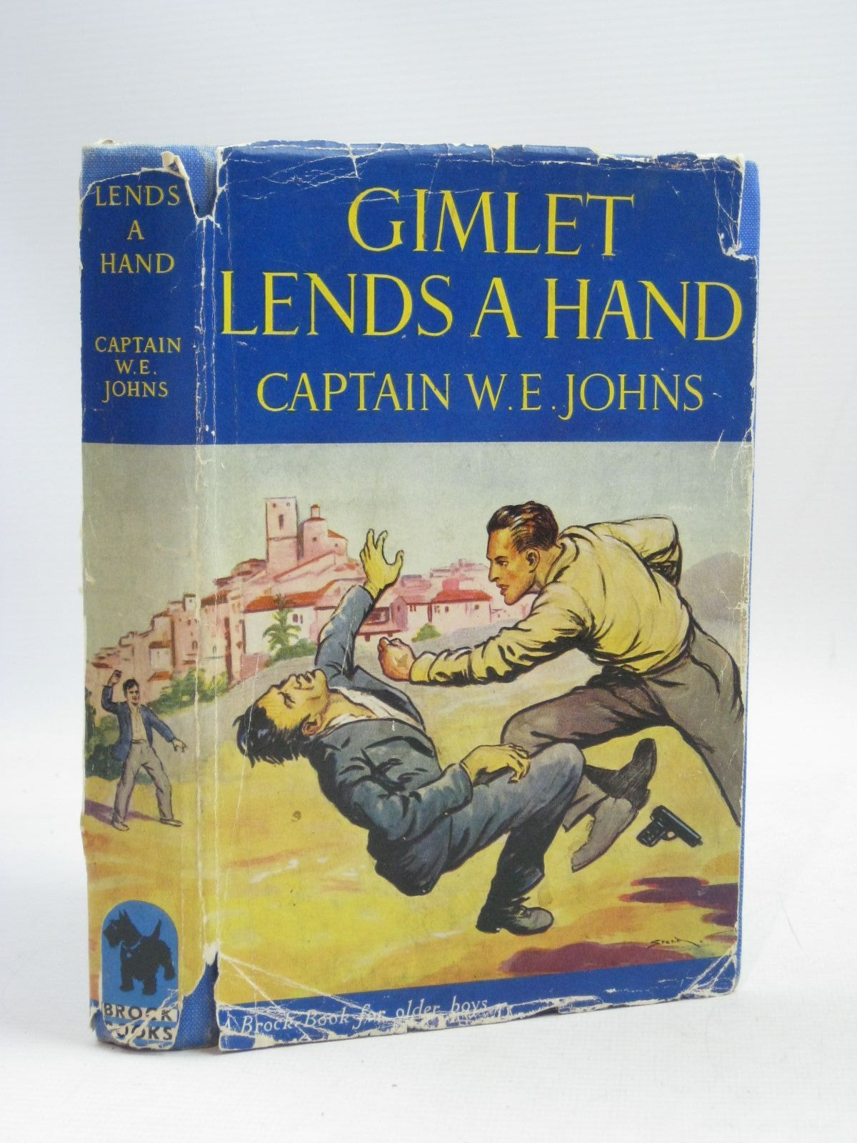 Photo of GIMLET LENDS A HAND written by Johns, W.E. illustrated by Stead, Leslie published by Brockhampton Press (STOCK CODE: 1405228)  for sale by Stella & Rose's Books
