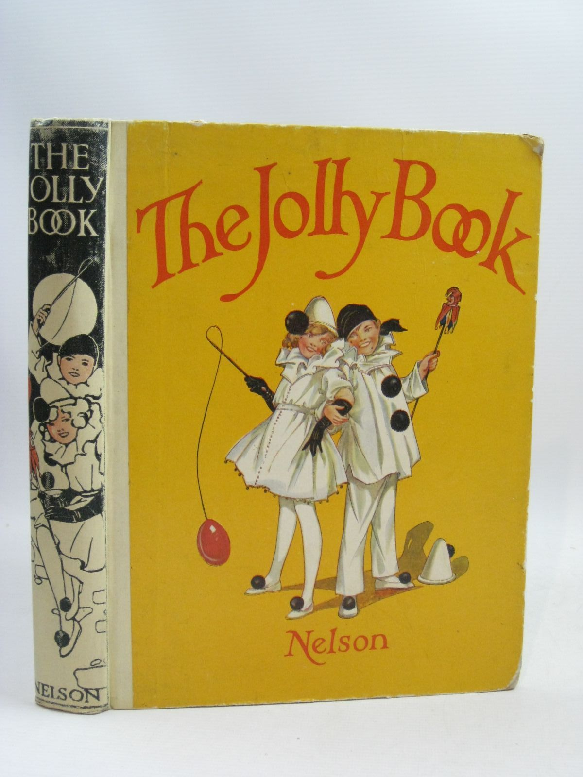 Photo of THE JOLLY BOOK - TENTH YEAR written by Chisholm, Edwin<br />Brazil, Angela<br />Heward, Constance<br />Scott-Hopper, Queenie<br />et al, illustrated by Studdy, G.E.<br />Earnshaw, Harold<br />Wood, Lawson<br />Anderson, Anne<br />et al., published by Thomas Nelson and Sons Ltd. (STOCK CODE: 1405240)  for sale by Stella & Rose's Books