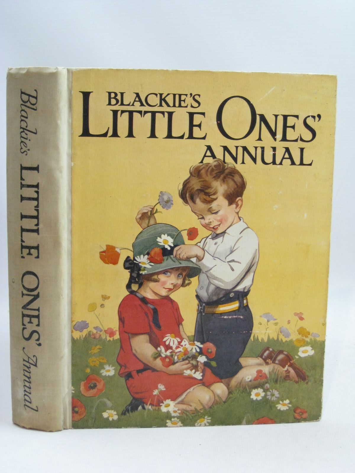 Photo of BLACKIE'S LITTLE ONES' ANNUAL 1929 written by Harris, Ada Leonora<br />Pope, Jessie<br />et al, illustrated by Rees, E. Dorothy<br />Brisley, Joyce Lankester<br />Bestall, Alfred<br />et al., published by Blackie & Son Ltd. (STOCK CODE: 1405241)  for sale by Stella & Rose's Books