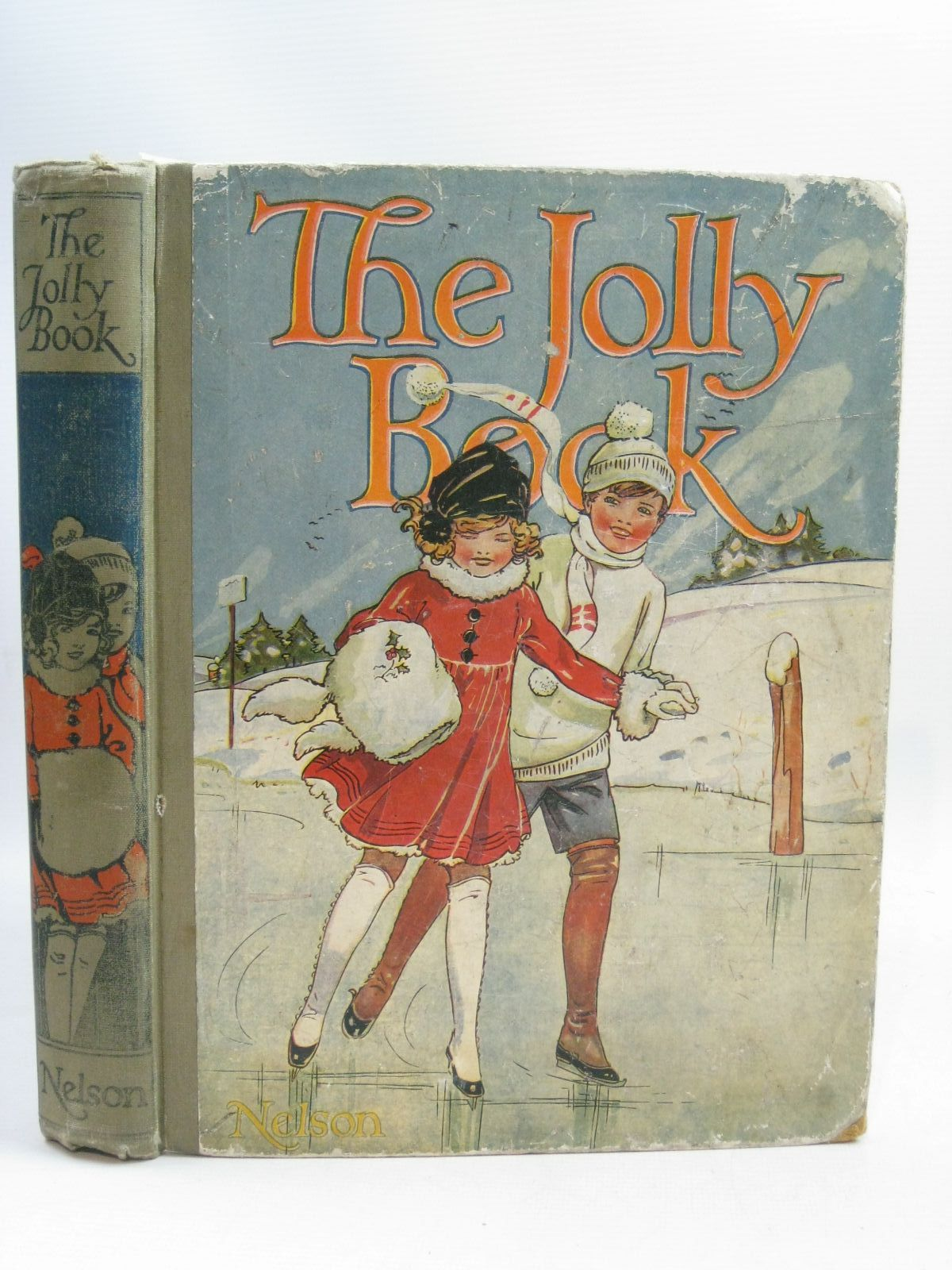 Photo of THE JOLLY BOOK - ELEVENTH YEAR written by Avery, Harold<br />Brazil, Angela<br />Talbot, Ethel<br />et al, illustrated by Wood, Lawson<br />Studdy, G.E.<br />Earnshaw, Harold<br />Anderson, Anne<br />et al., published by Thomas Nelson & Sons (STOCK CODE: 1405242)  for sale by Stella & Rose's Books