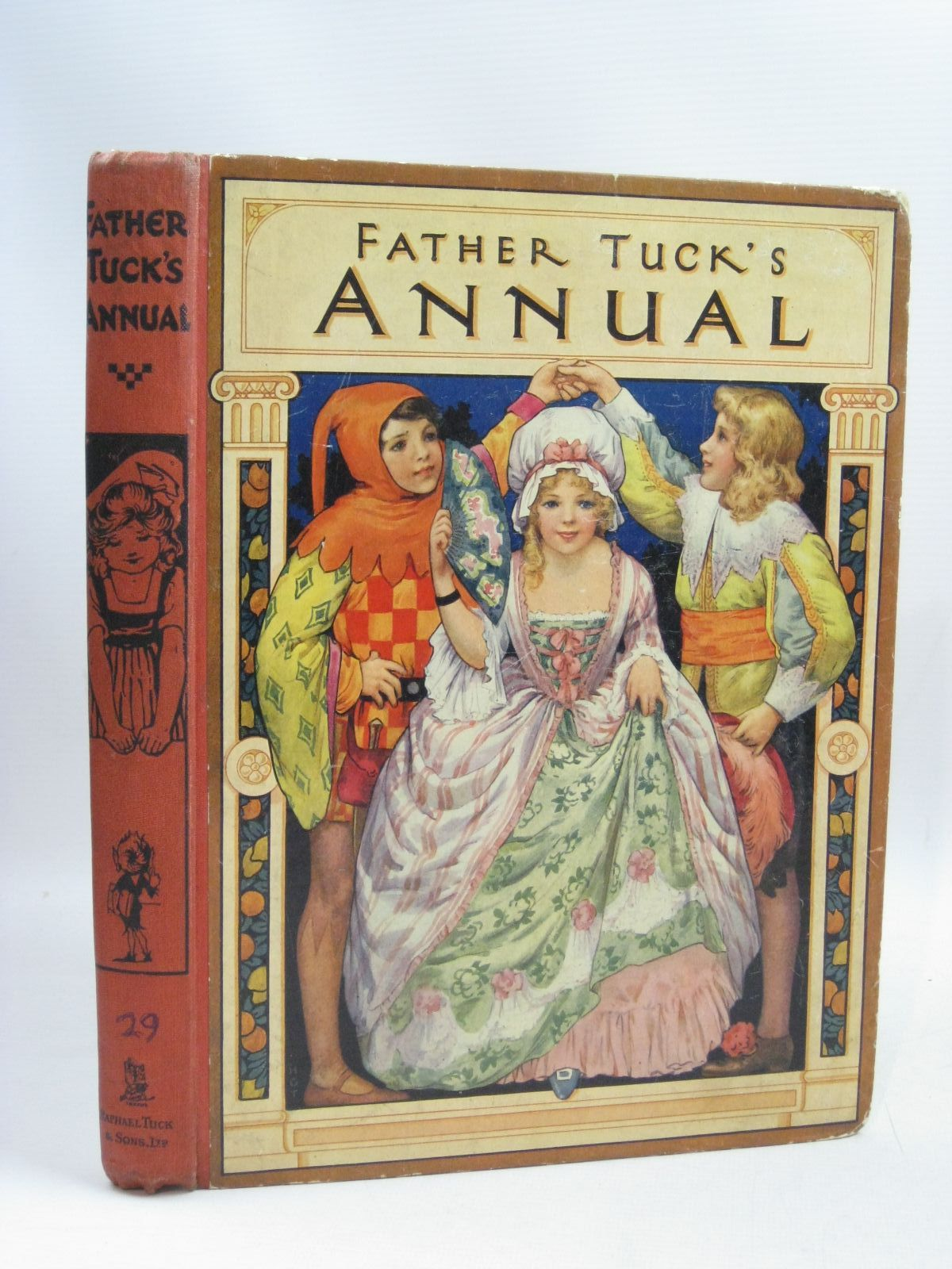 Photo of FATHER TUCK'S ANNUAL - 29TH YEAR written by Wynne, May<br />Baker, Margaret<br />Herbertson, Agnes Grozier<br />et al, illustrated by Theaker, Harry G.<br />Wain, Louis<br />Cowham, Hilda<br />et al., published by Raphael Tuck & Sons Ltd. (STOCK CODE: 1405243)  for sale by Stella & Rose's Books