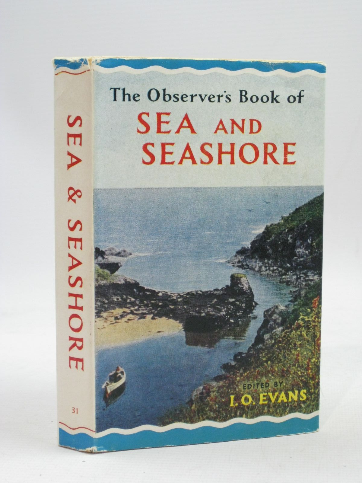 Photo of THE OBSERVER'S BOOK OF SEA AND SEASHORE written by Evans, I.O. illustrated by Mansell, Ernest C. published by Frederick Warne & Co Ltd. (STOCK CODE: 1405253)  for sale by Stella & Rose's Books
