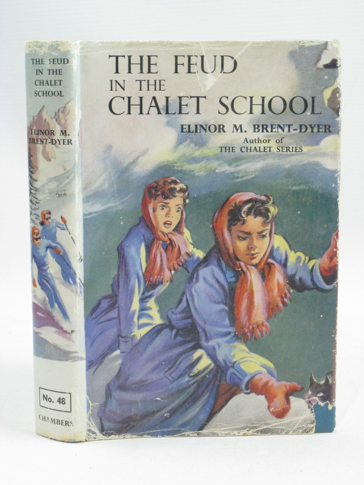 Photo of THE FEUD IN THE CHALET SCHOOL written by Brent-Dyer, Elinor M. illustrated by Brook, D. published by W. & R. Chambers Limited (STOCK CODE: 1405257)  for sale by Stella & Rose's Books