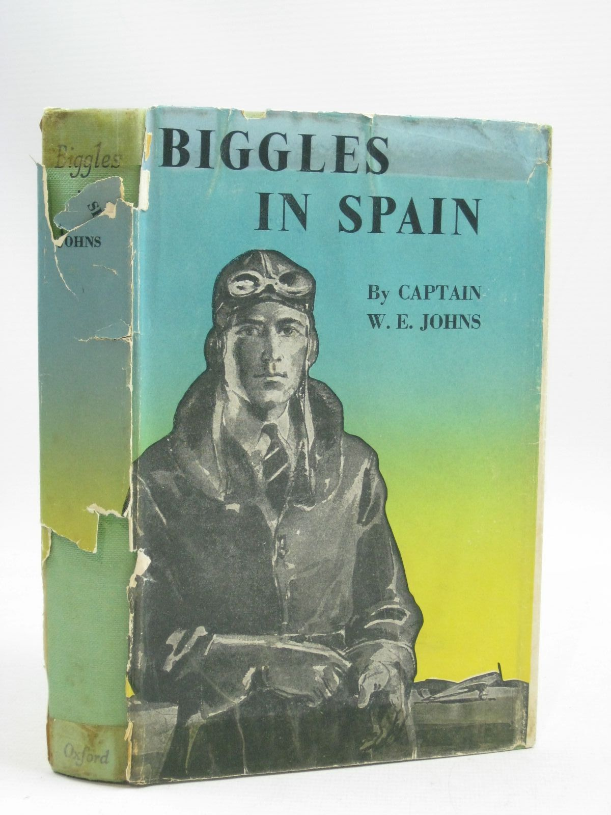 Photo of BIGGLES IN SPAIN written by Johns, W.E. illustrated by Abbey, J. published by Geoffrey Cumberlege, Oxford University Press (STOCK CODE: 1405278)  for sale by Stella & Rose's Books
