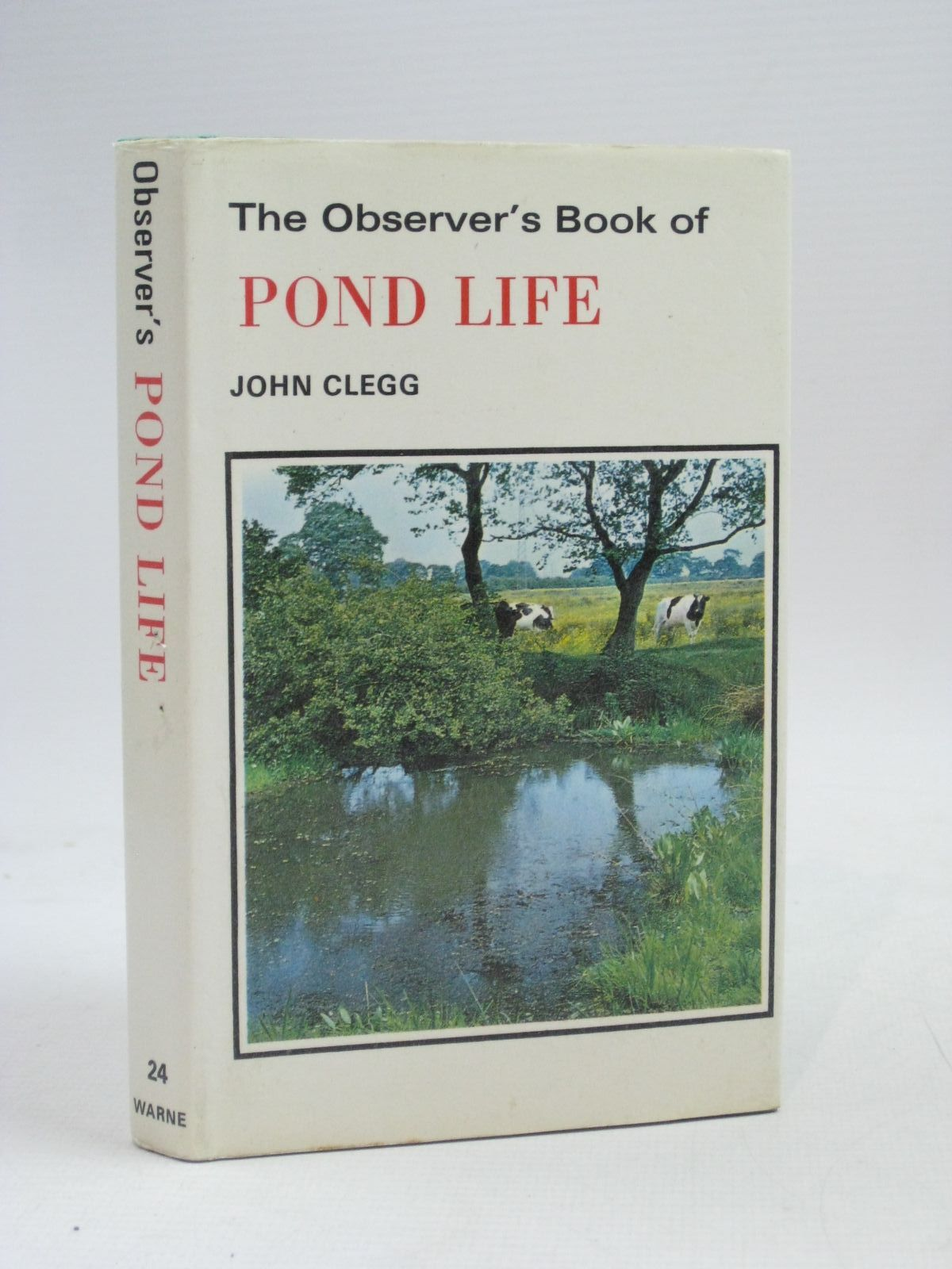 Photo of THE OBSERVER'S BOOK OF POND LIFE written by Clegg, John illustrated by Mansell, Ernest C. published by Frederick Warne & Co Ltd. (STOCK CODE: 1405299)  for sale by Stella & Rose's Books