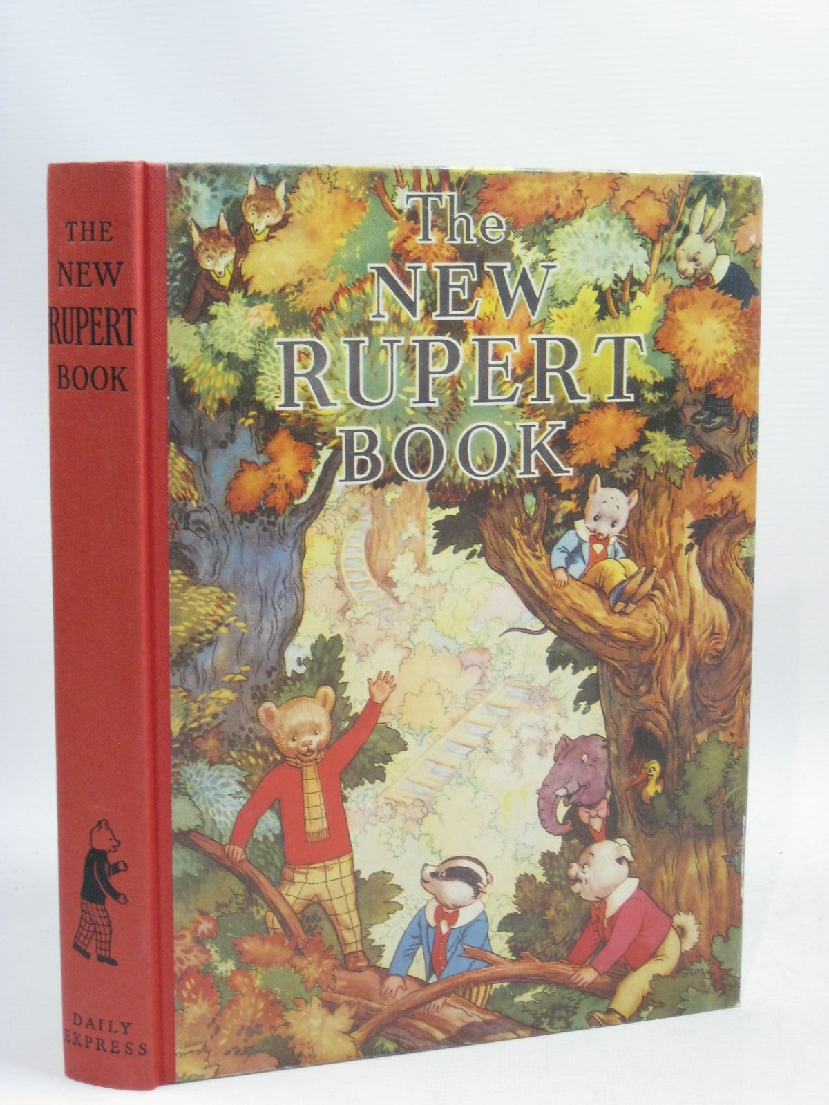 Photo of RUPERT ANNUAL 1938 (FACSIMILE) - THE NEW RUPERT BOOK written by Bestall, Alfred illustrated by Bestall, Alfred published by Daily Express (STOCK CODE: 1405327)  for sale by Stella & Rose's Books