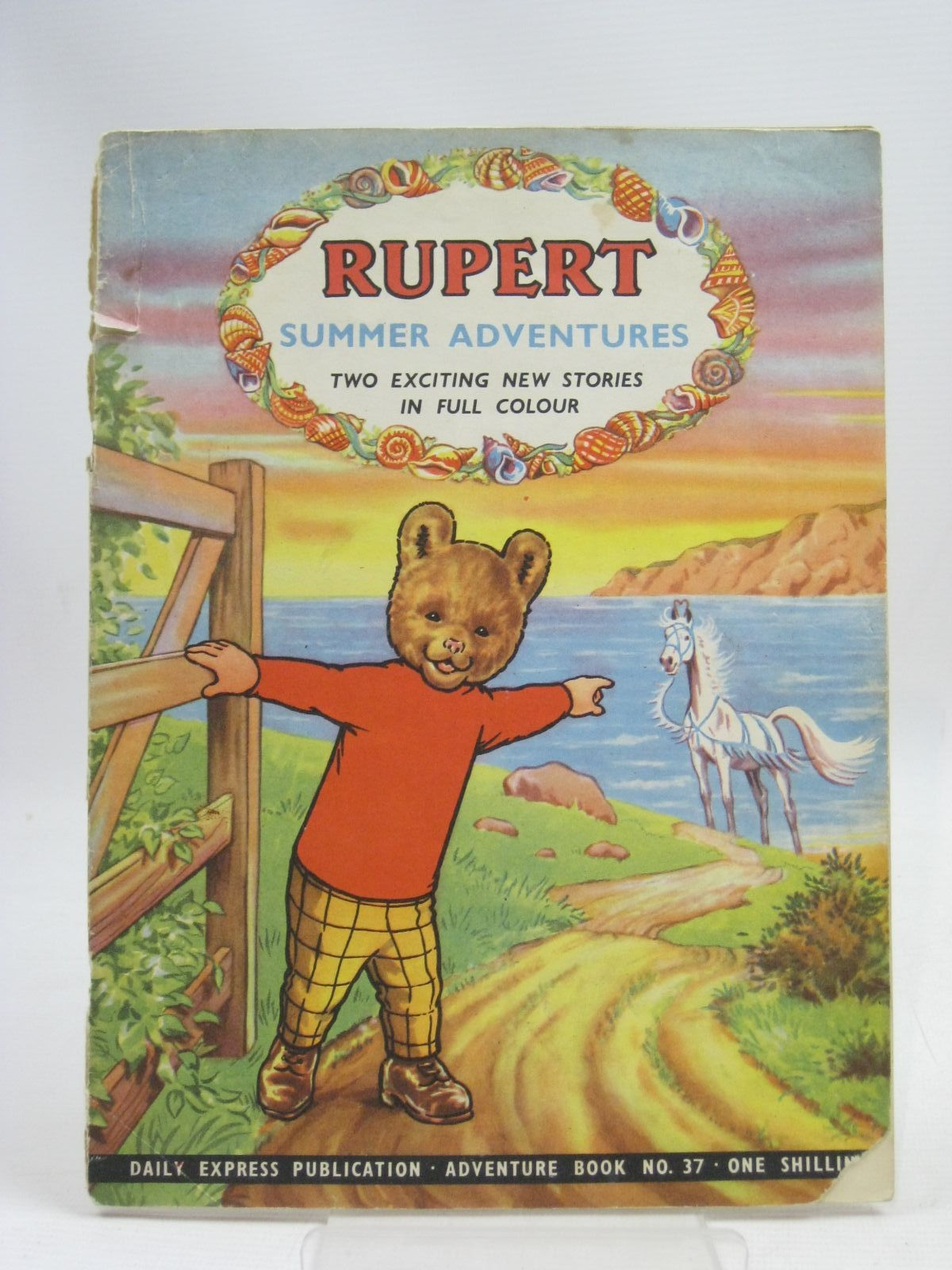 Photo of RUPERT ADVENTURE BOOK No. 37 - SUMMER ADVENTURES written by Bestall, Alfred published by Daily Express (STOCK CODE: 1405330)  for sale by Stella & Rose's Books