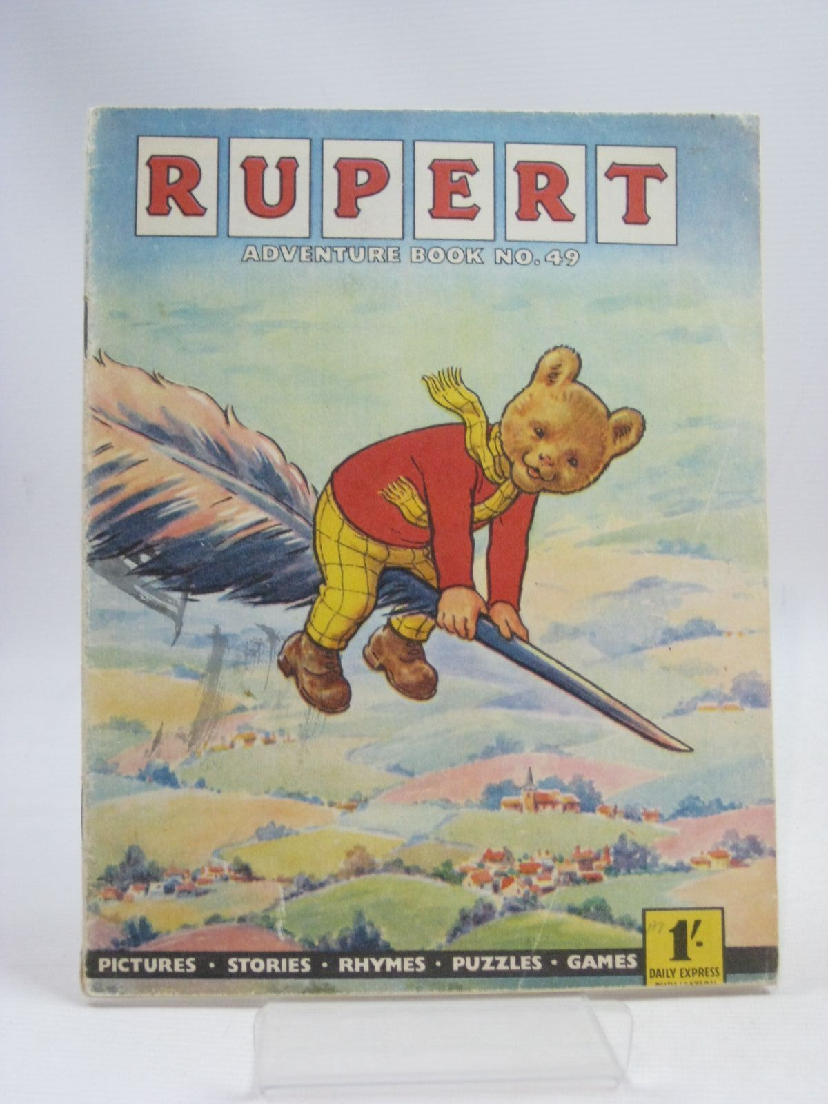 Photo of RUPERT ADVENTURE BOOK No. 49 written by Bestall, Alfred published by Daily Express, Oldbourne Book Co. Ltd. (STOCK CODE: 1405331)  for sale by Stella & Rose's Books
