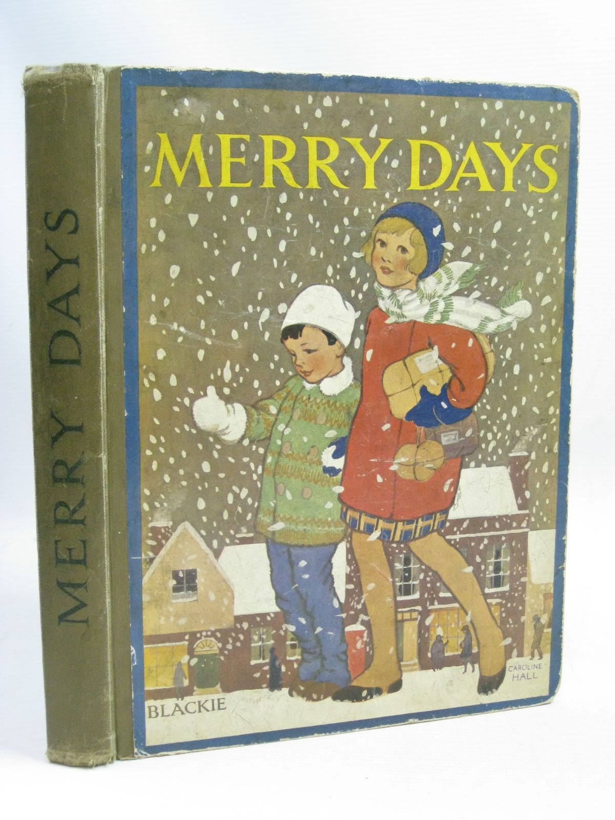 Photo of MERRY DAYS written by Barnes, Madeline<br />Stevenson, Mabel M.<br />et al,  illustrated by Brisley, Nina K.<br />Hart, Frank<br />Rees, E. Dorothy<br />et al.,  published by Blackie & Son Ltd. (STOCK CODE: 1405336)  for sale by Stella & Rose's Books