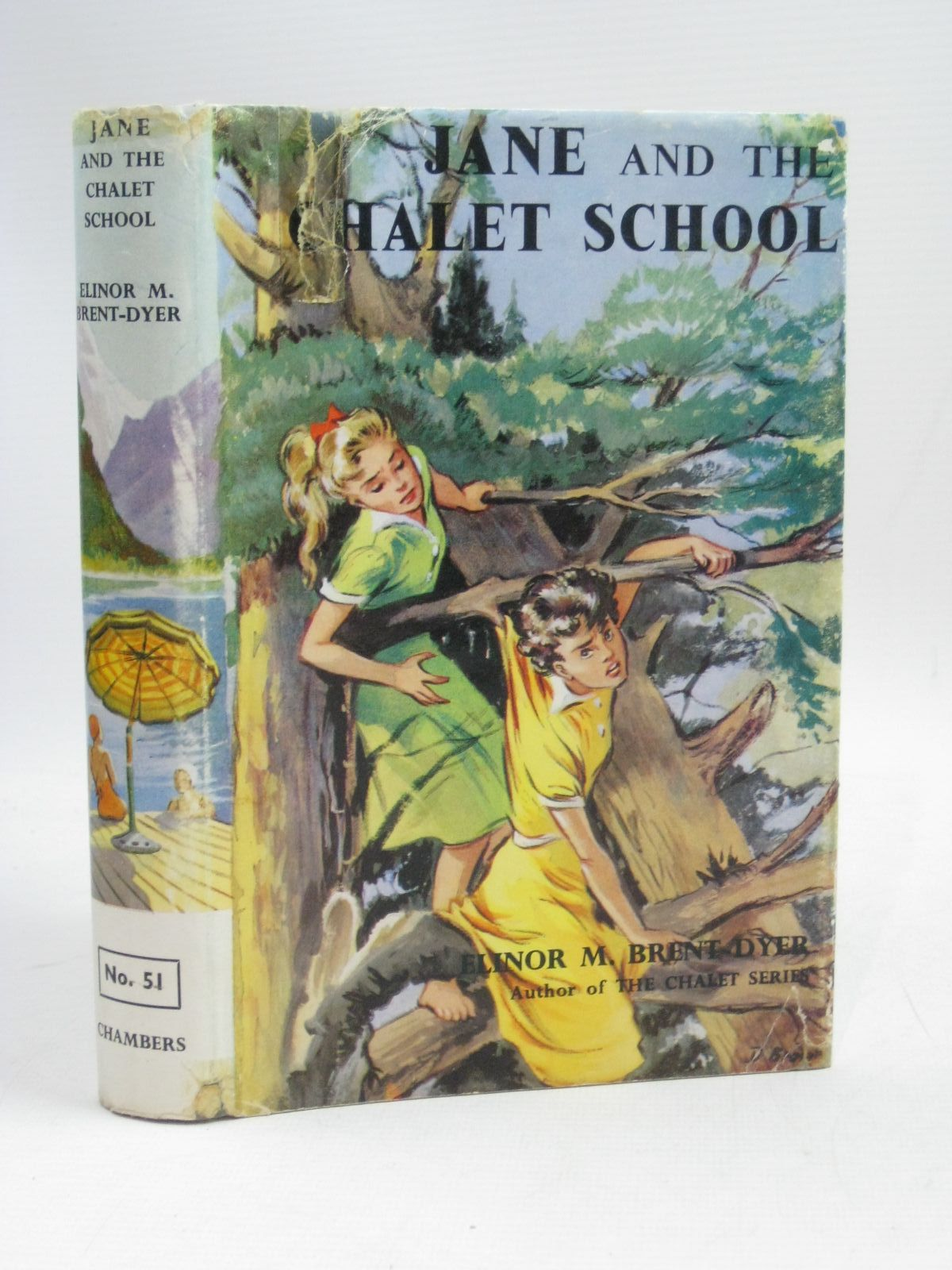 Photo of JANE AND THE CHALET SCHOOL written by Brent-Dyer, Elinor M. published by W. & R. Chambers Limited (STOCK CODE: 1405379)  for sale by Stella & Rose's Books