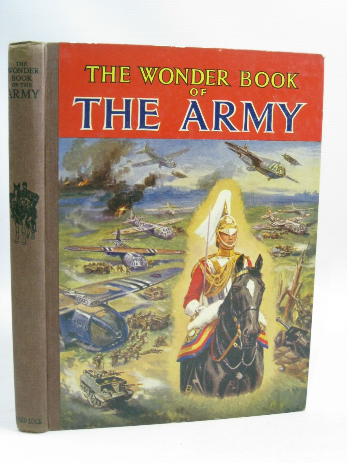 Photo of THE WONDER BOOK OF THE ARMY published by Ward, Lock & Co. Ltd. (STOCK CODE: 1405381)  for sale by Stella & Rose's Books