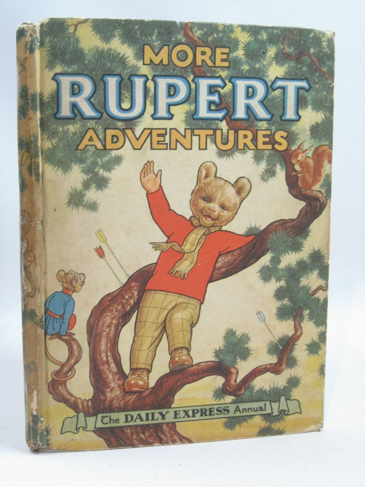 Photo of RUPERT ANNUAL 1952 - MORE RUPERT ADVENTURES written by Bestall, Alfred illustrated by Bestall, Alfred published by Daily Express (STOCK CODE: 1405409)  for sale by Stella & Rose's Books