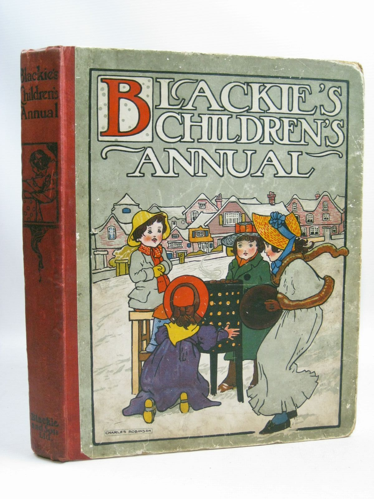 Photo of BLACKIE'S CHILDREN'S ANNUAL 3RD YEAR written by Strang, Herbert<br />Bingham, Clifton<br />Herbertson, Agnes Grozier<br />Morris, Alice Talwin illustrated by Robinson, Charles<br />Hassall, John published by Blackie & Son Ltd. (STOCK CODE: 1405424)  for sale by Stella & Rose's Books