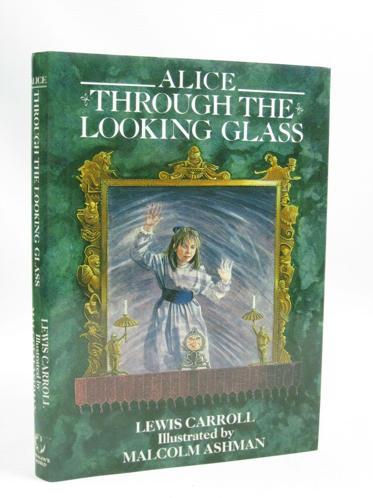Photo of ALICE THROUGH THE LOOKING GLASS written by Carroll, Lewis illustrated by Ashman, Malcolm published by Dragon's World (STOCK CODE: 1405440)  for sale by Stella & Rose's Books