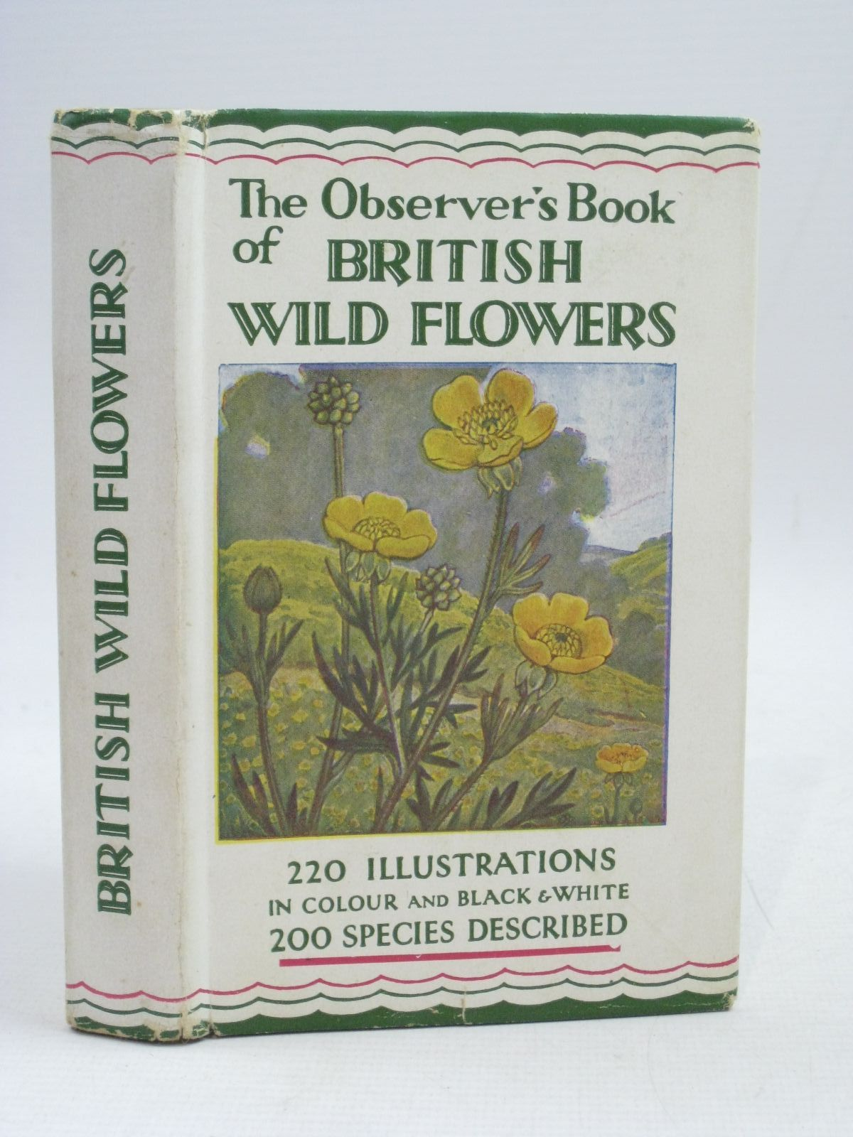 Photo of THE OBSERVER'S BOOK OF BRITISH WILD FLOWERS