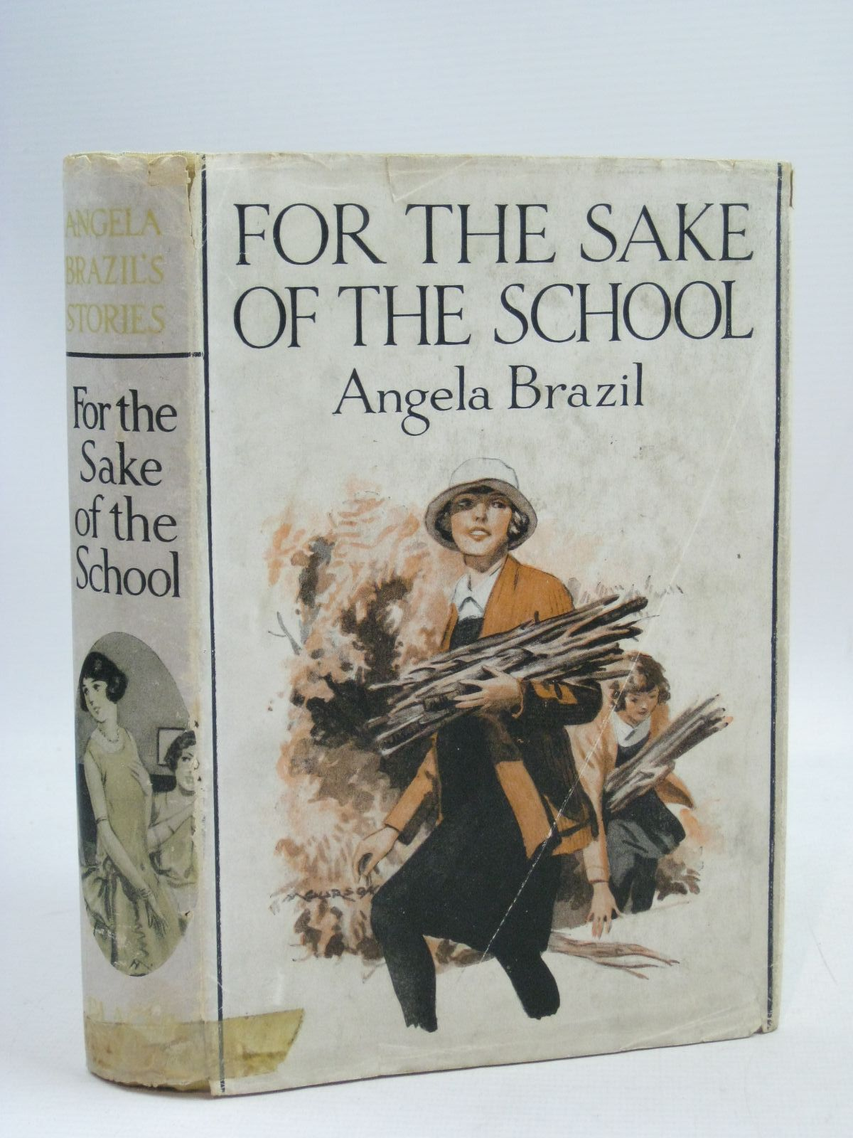Photo of FOR THE SAKE OF THE SCHOOL written by Brazil, Angela published by Blackie & Son Ltd. (STOCK CODE: 1405466)  for sale by Stella & Rose's Books