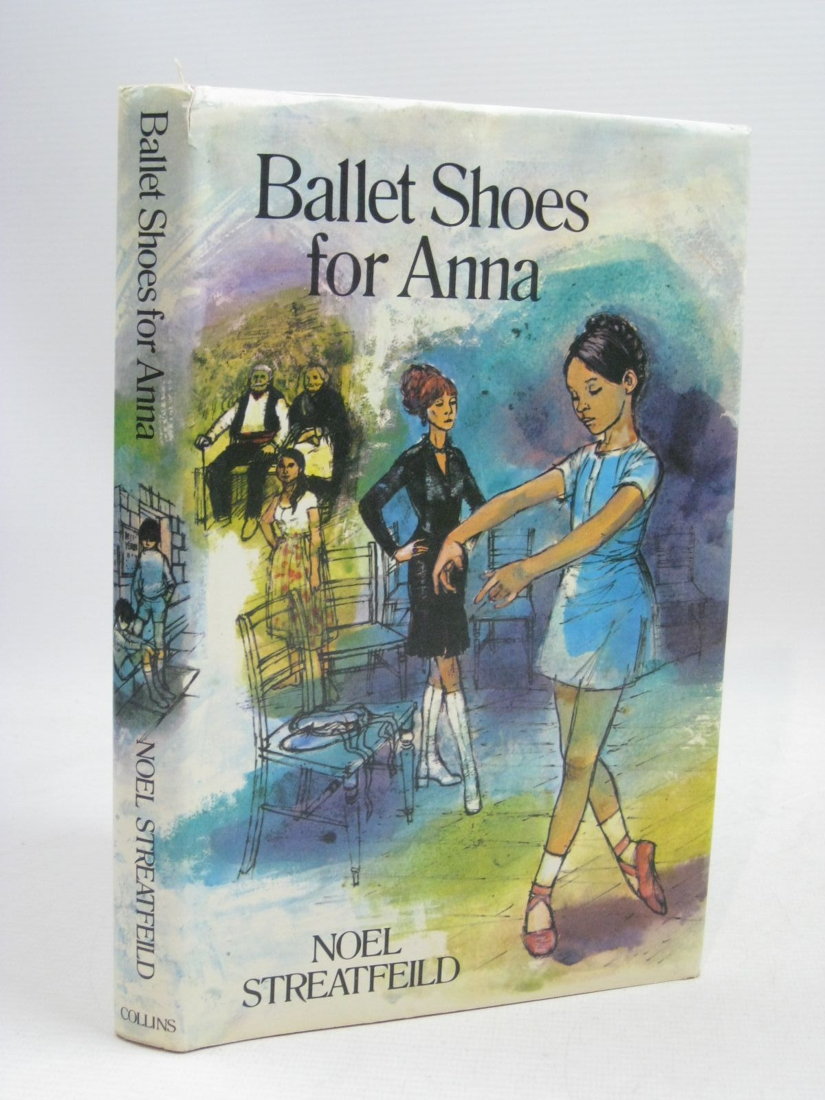 Photo of BALLET SHOES FOR ANNA written by Streatfeild, Noel illustrated by Dinsdale, Mary published by Collins (STOCK CODE: 1405476)  for sale by Stella & Rose's Books