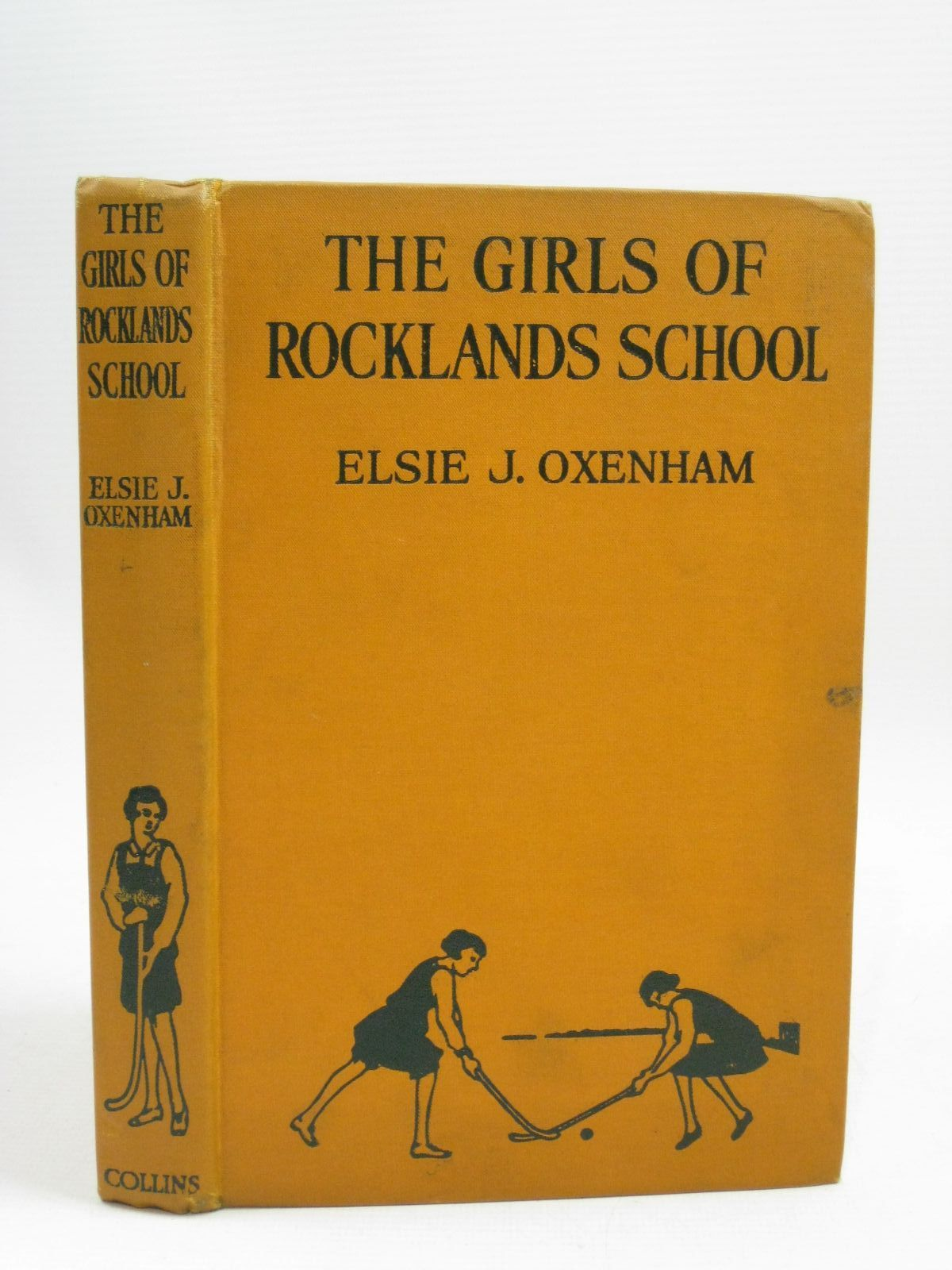 Photo of THE GIRLS OF ROCKLANDS SCHOOL written by Oxenham, Elsie J. illustrated by Wood, Elsie Anna published by Collins Clear-Type Press (STOCK CODE: 1405487)  for sale by Stella & Rose's Books